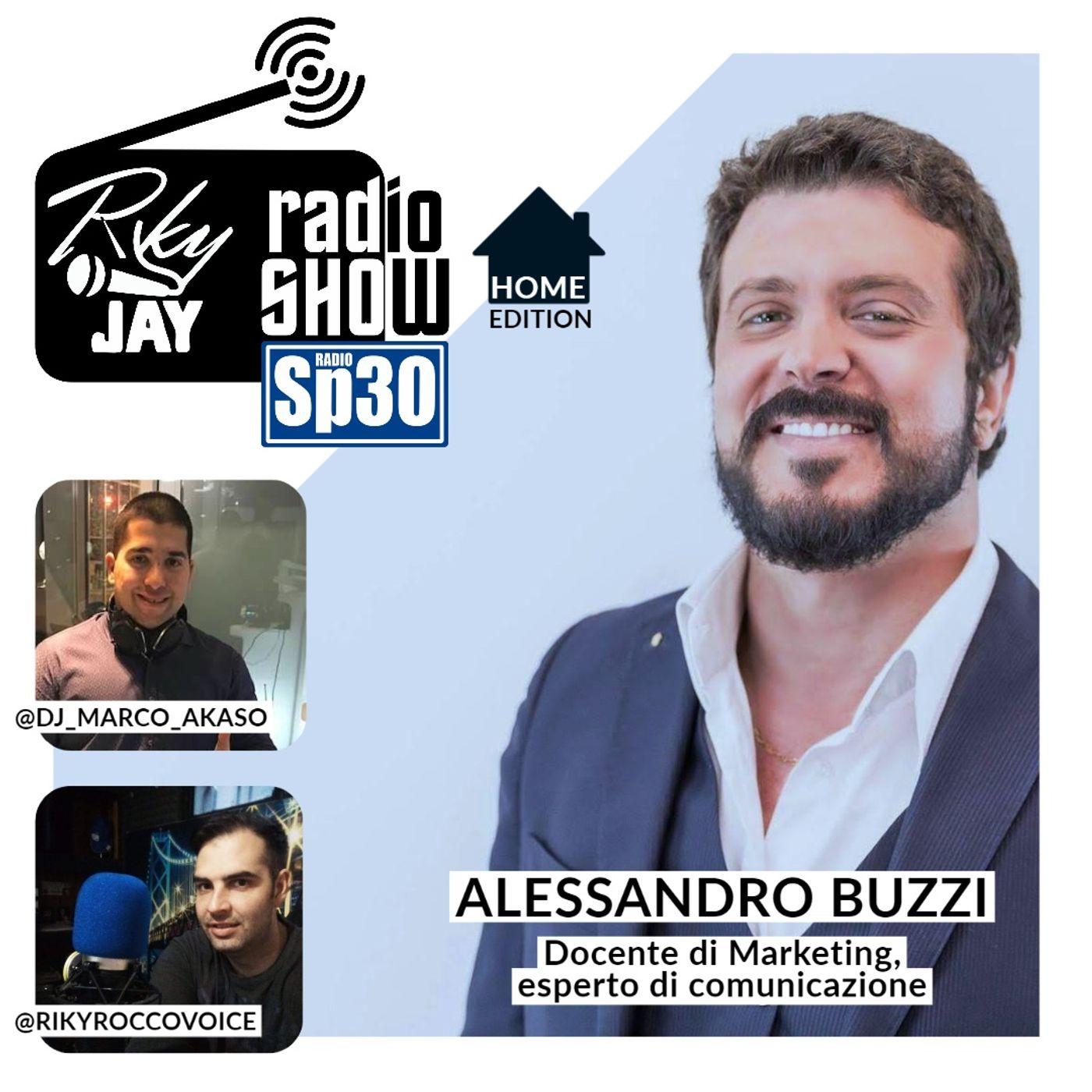 RikyJay Radio Show - #28 - Home Edition - Ospite Alessandro Buzzi