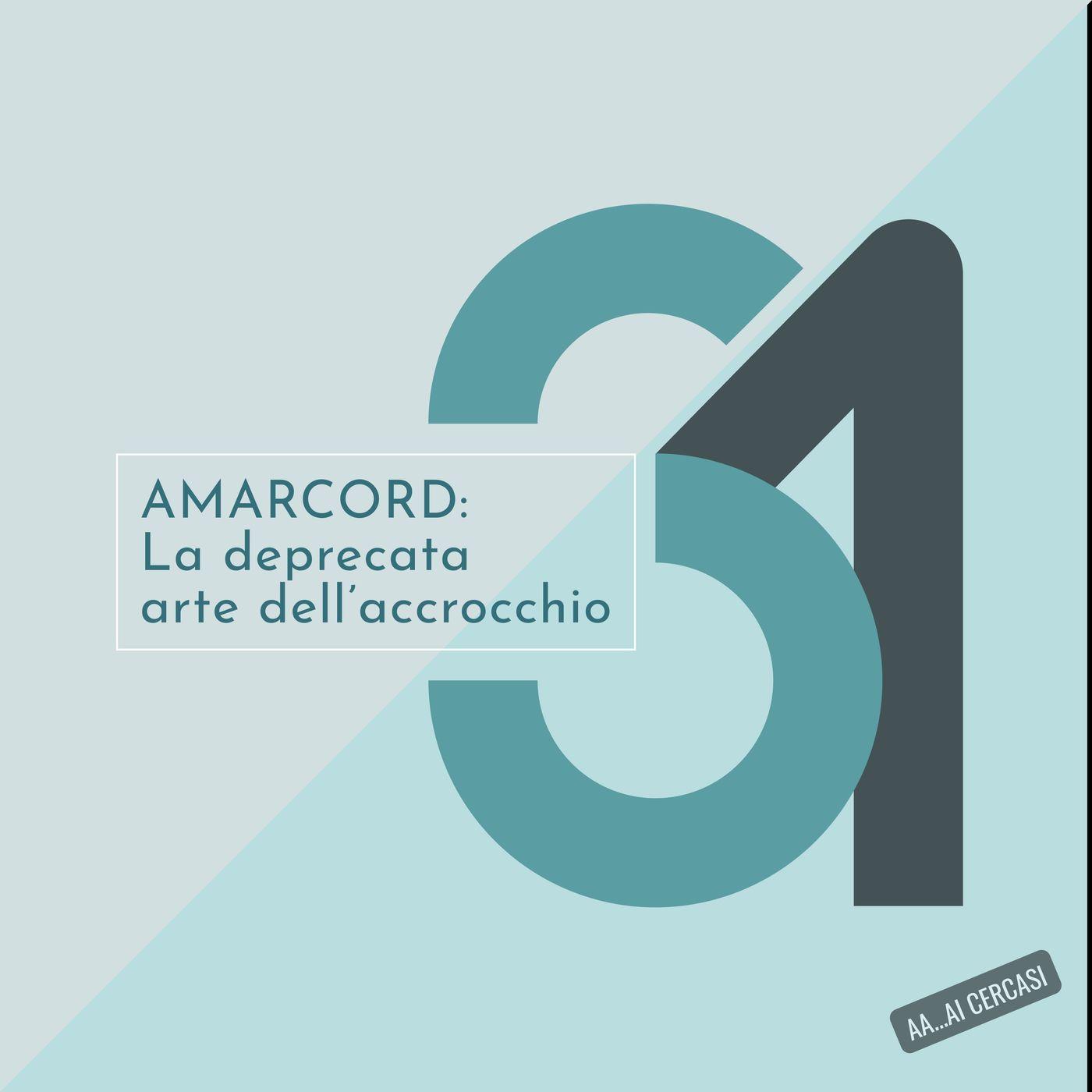 031 AMARCORD - La deprecata arte dell' 'accrocchio'