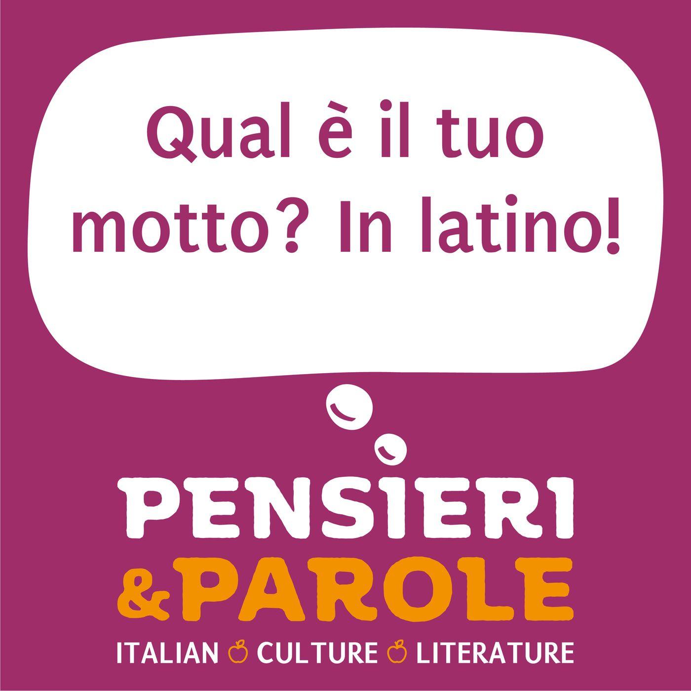 63_Qual è il tuo motto? In latino!