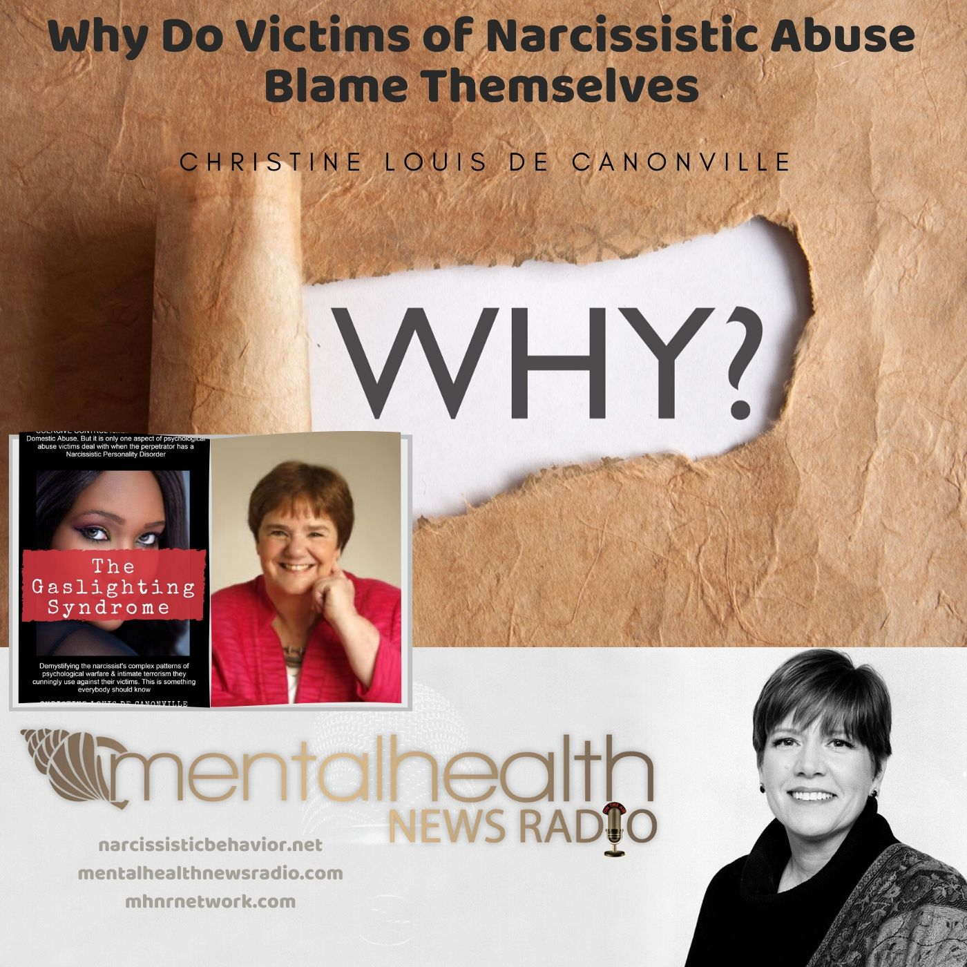 Mental Health News Radio - From the Archives: Why Do Victims of Narcissistic Abuse Blame Themselves