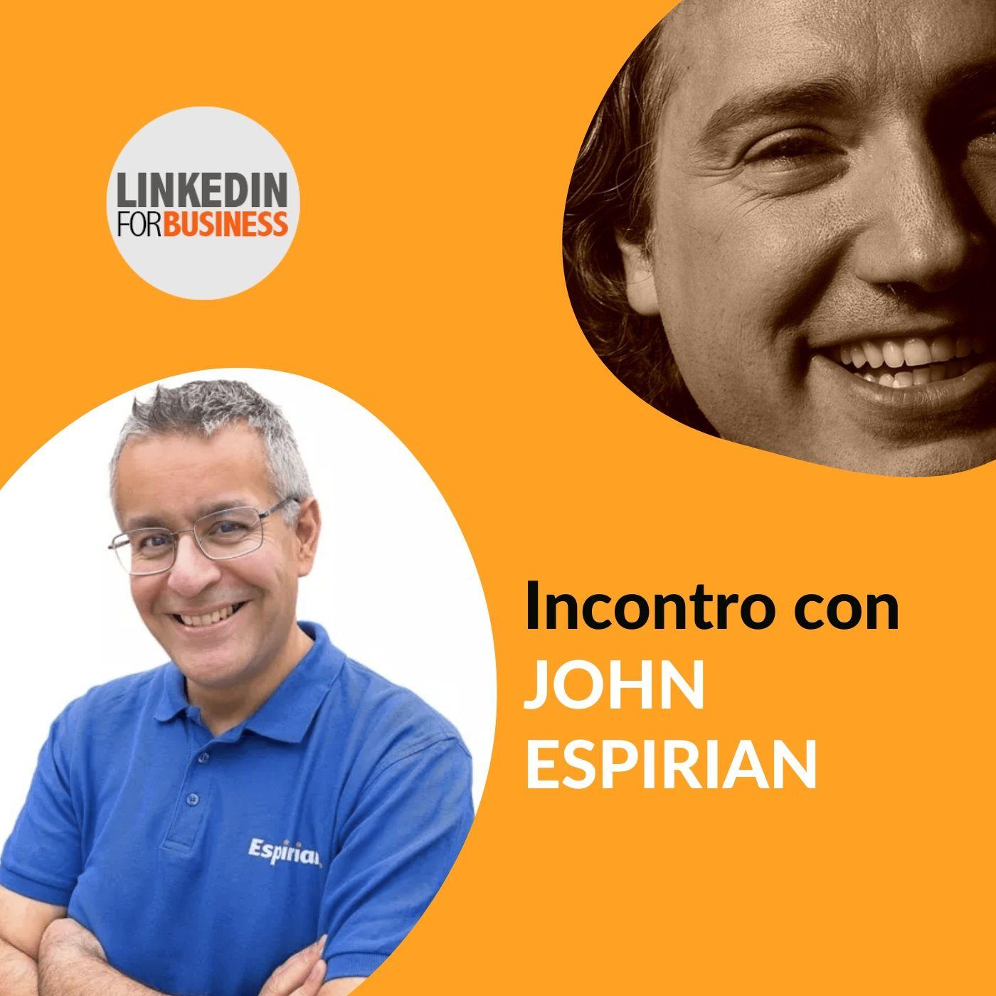 139 - LinkedInForBusiness incontra John Espirian
