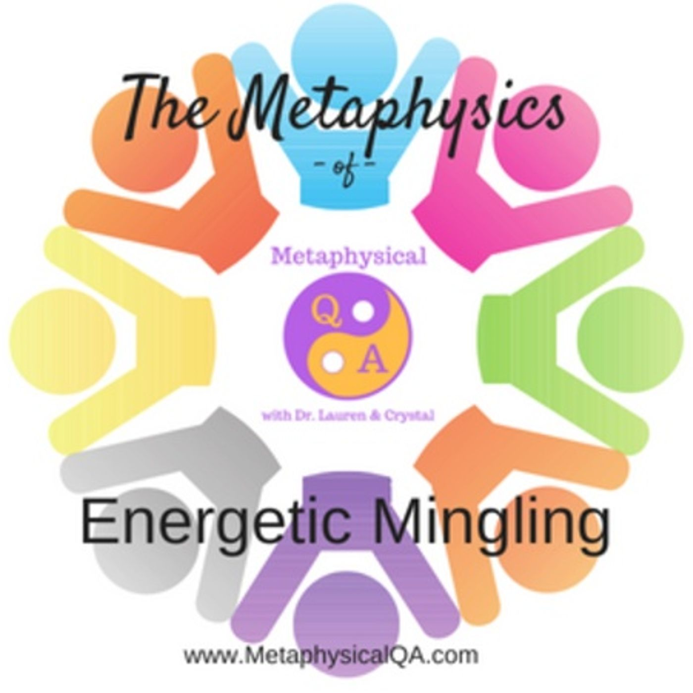 Metaphysics of Energetic Mingling Podcast with Dr. Lauren and Crystal