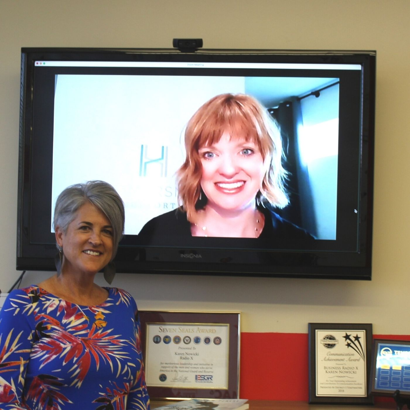 Heather Locke with Hammersmith Support