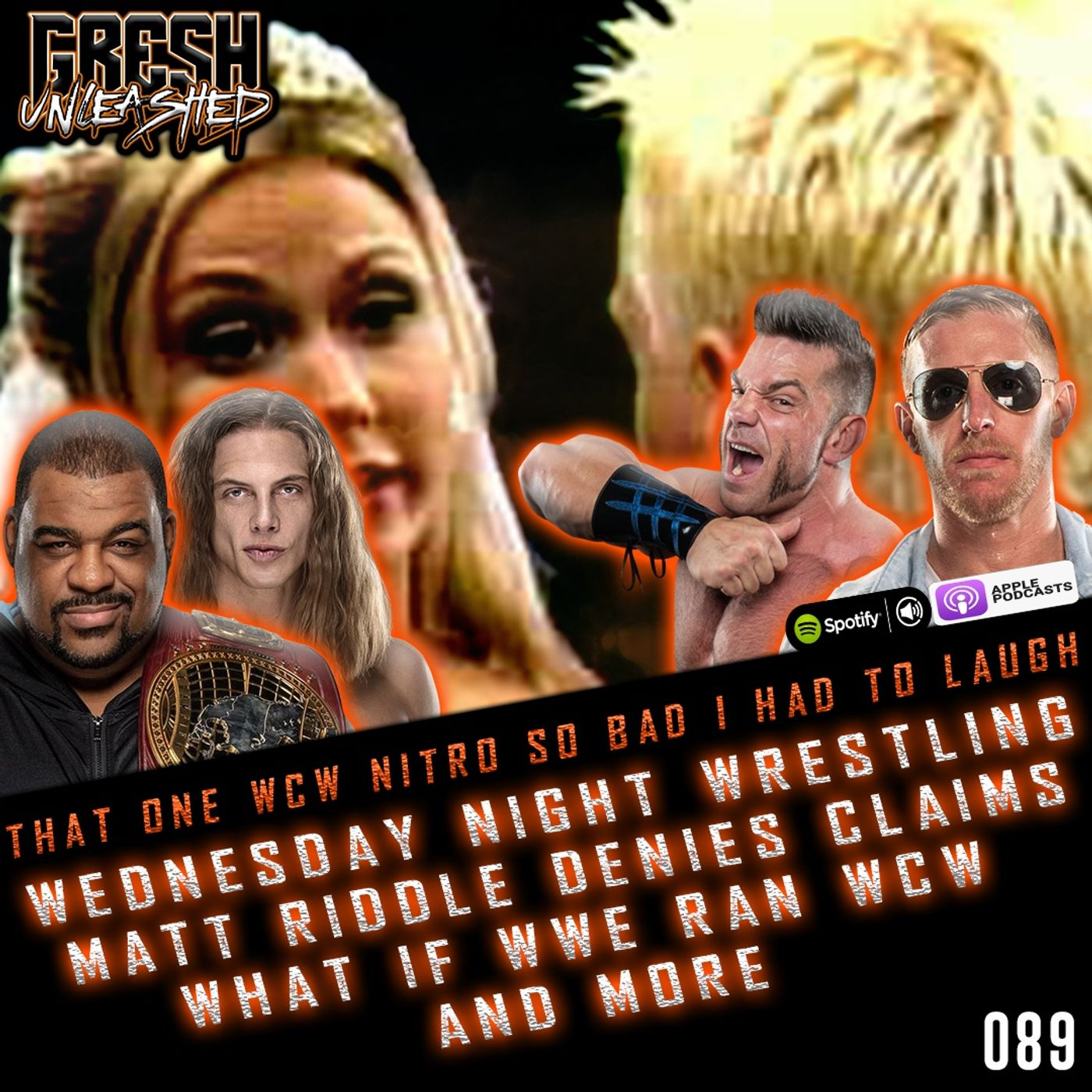 That One WCW Nitro So Bad, I Had To Laugh! Wednesday Night Wrestling and more   Gresh Unleashed 089