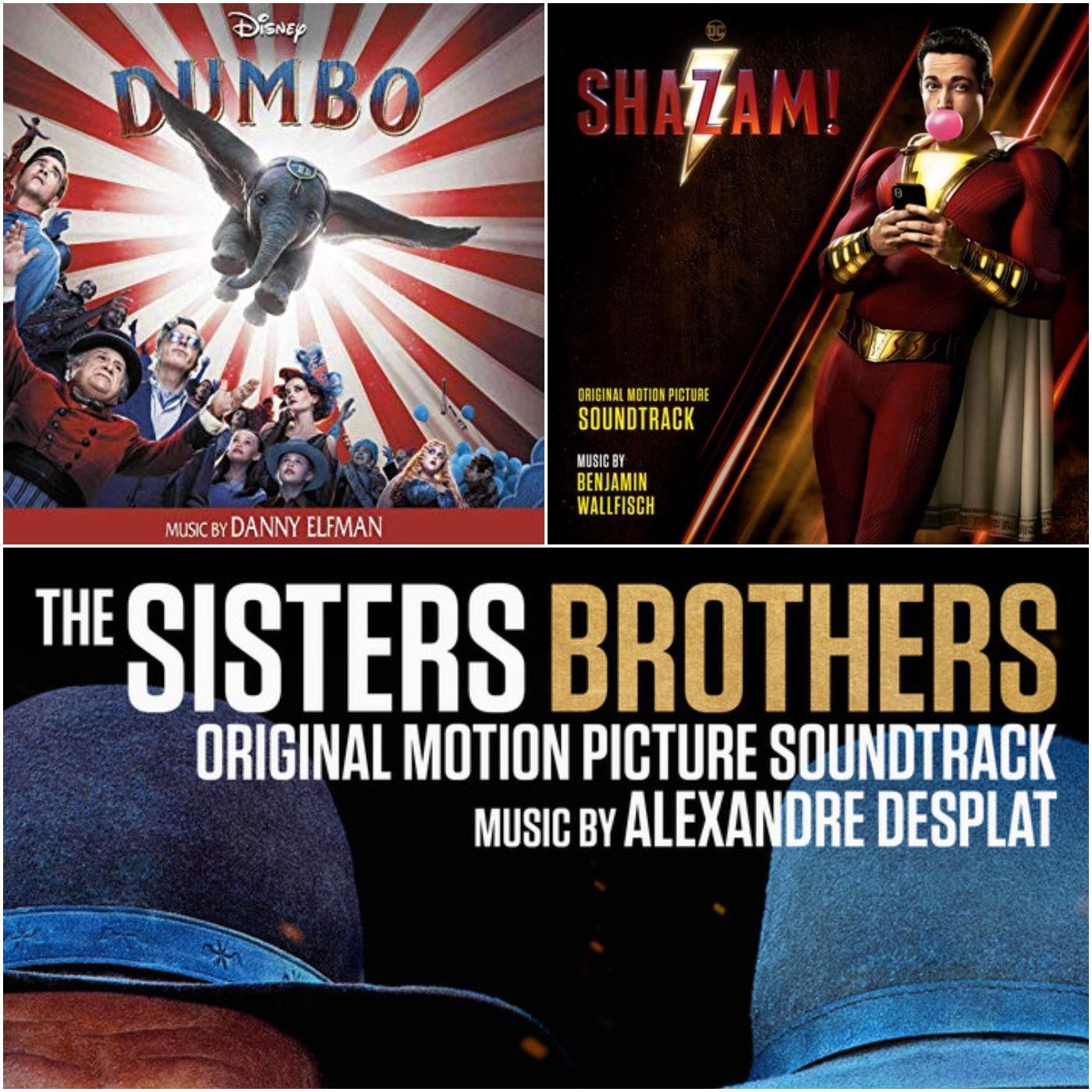 5. Dumbo / The Sisters Brothers / Shazam! / Top 10 James Horner (Pt 2)