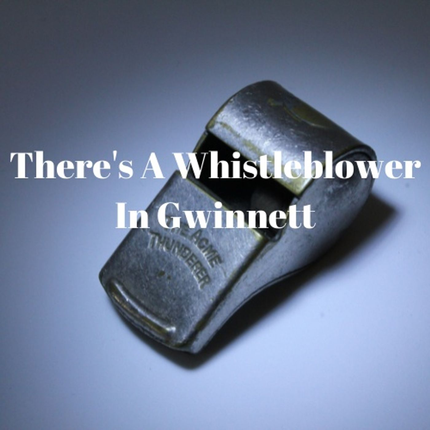 Oh Crap!  There's A Whistleblower In Gwinnett County