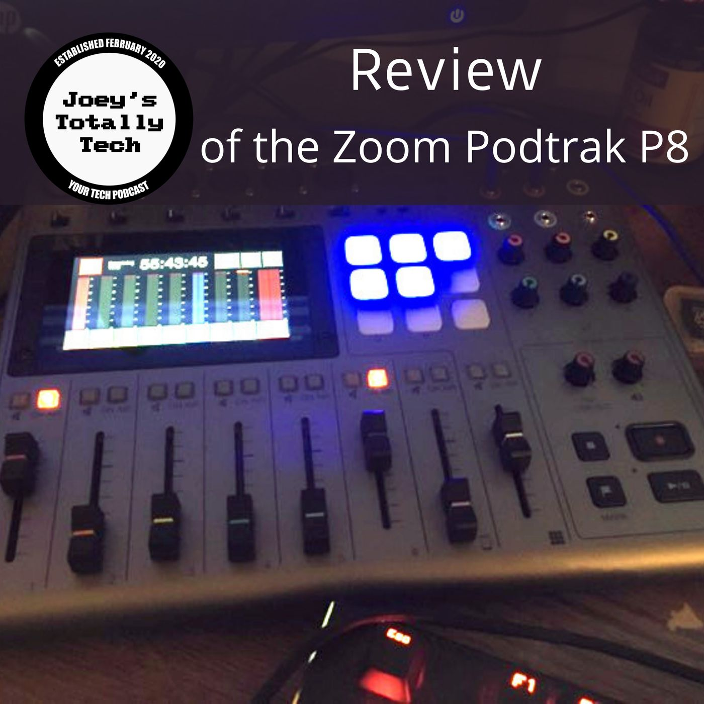 Review of the Zoom Podtrak P8