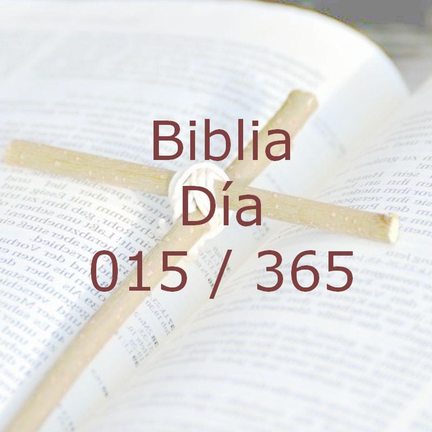 365 dias para la Biblia - Dia 015