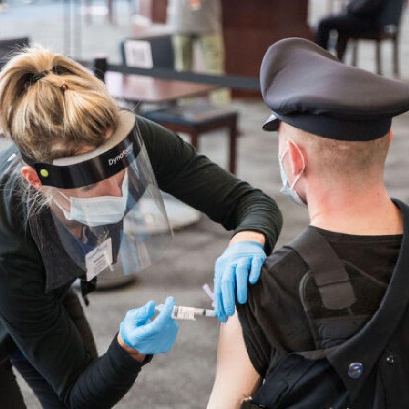 Episode 1392 - Judge Denies Police Union's Effort to Delay Vaccine Mandate in Massachusetts