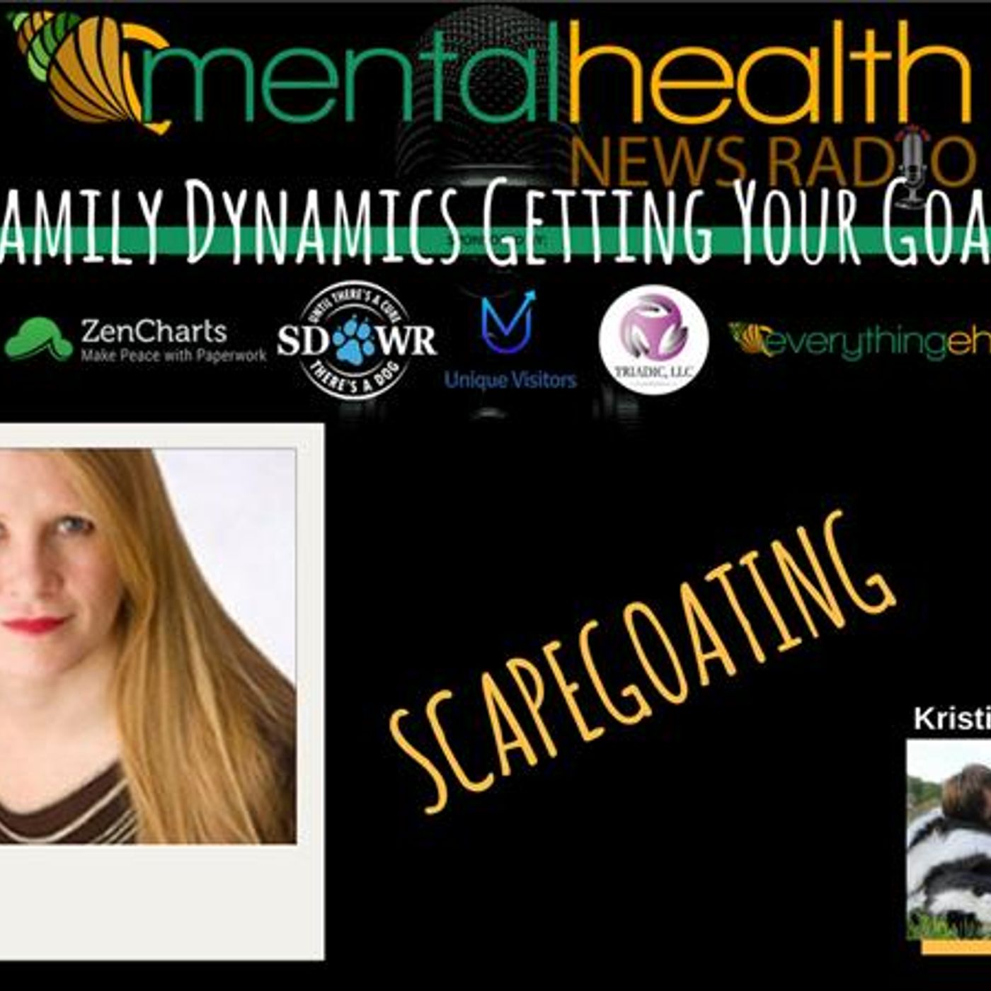 Mental Health News Radio - Family Dynamics Getting Your Goat? Scapegoating with Glynis Sherwood