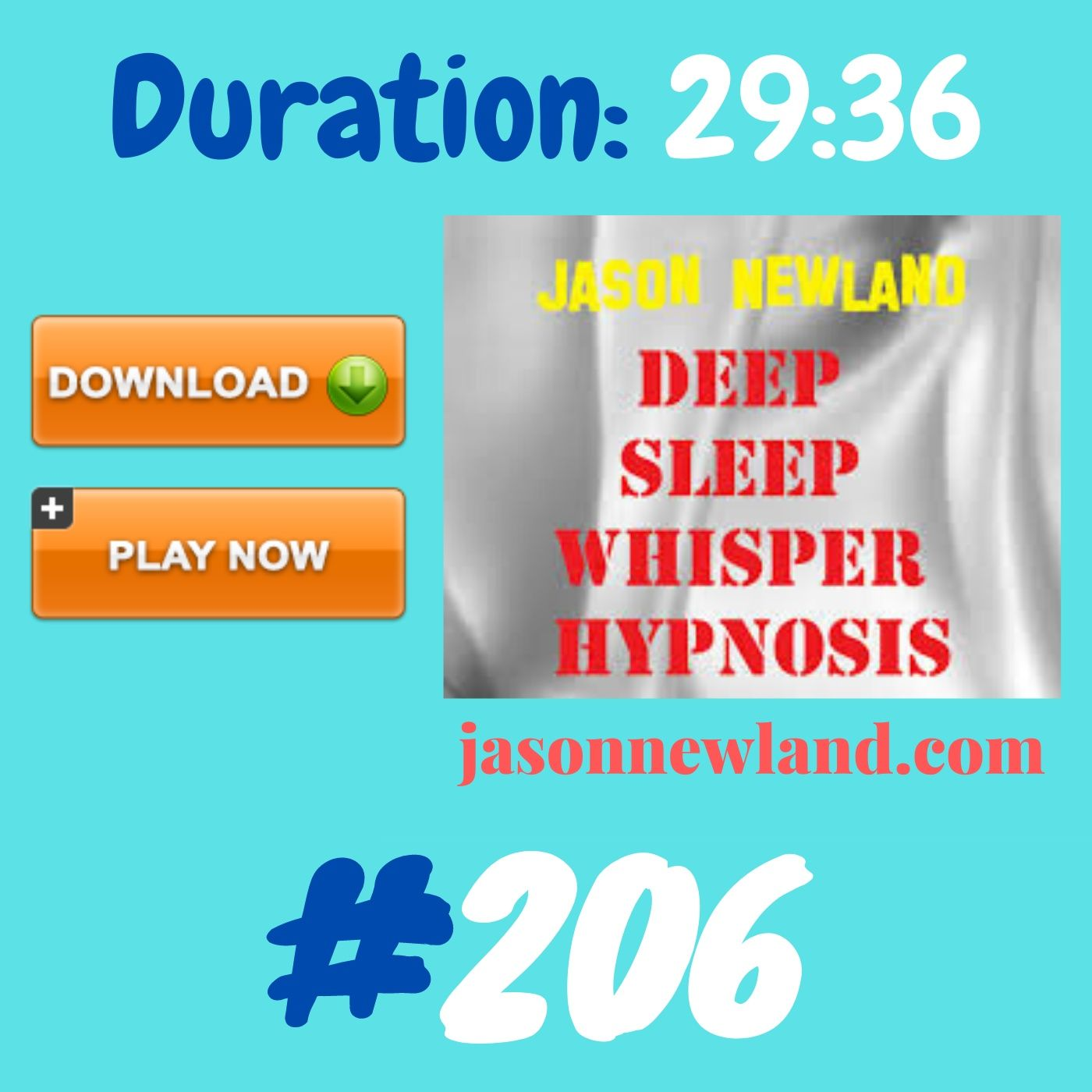 #362 Deep Sleep Whisper Hypnosis (Jason Newland) with MUSIC