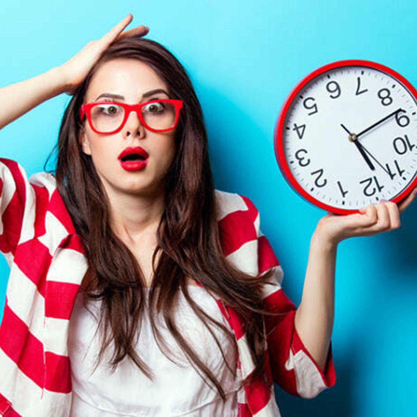¡¿Eres uno de tantos que nunca tienen tiempo?