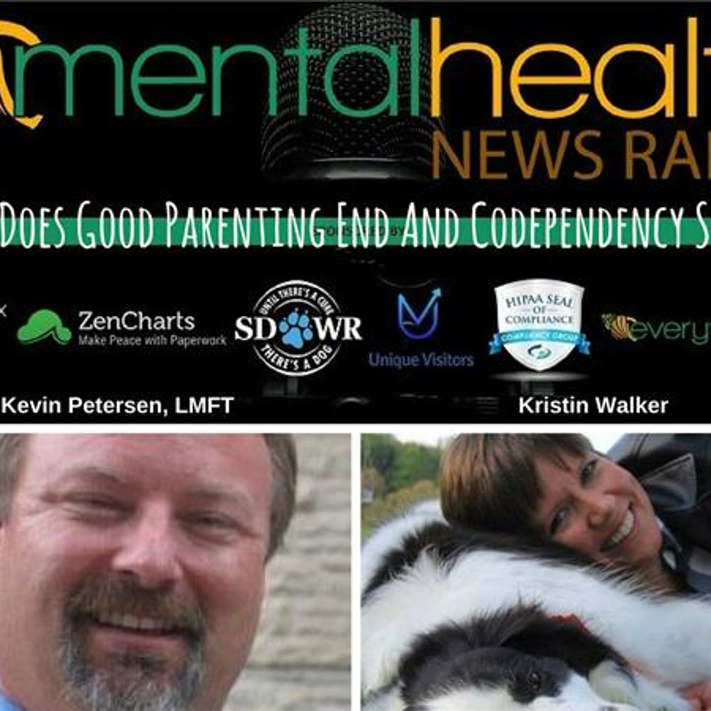 Mental Health News Radio - Where Does Good Parenting End And Codependency Start?