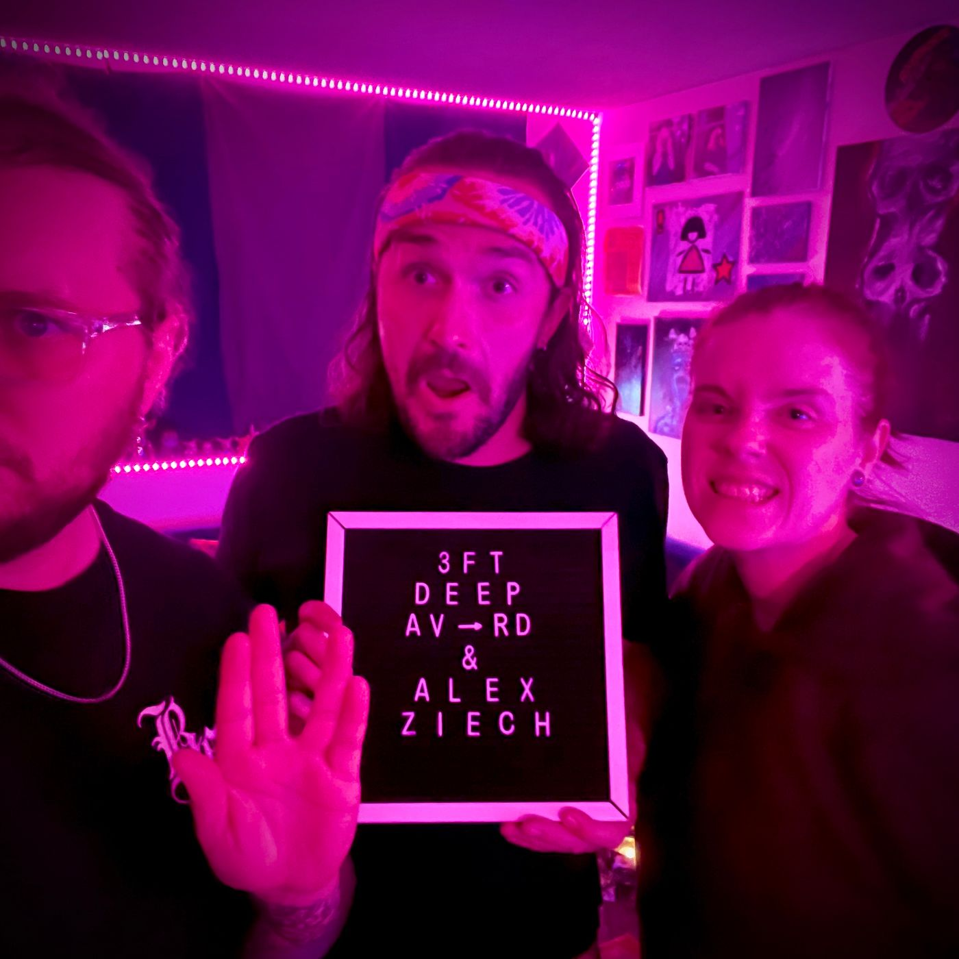 3FT Deep| EP. 95 | If you're there at 8, you're there too late (Feat. Alex Ziech)