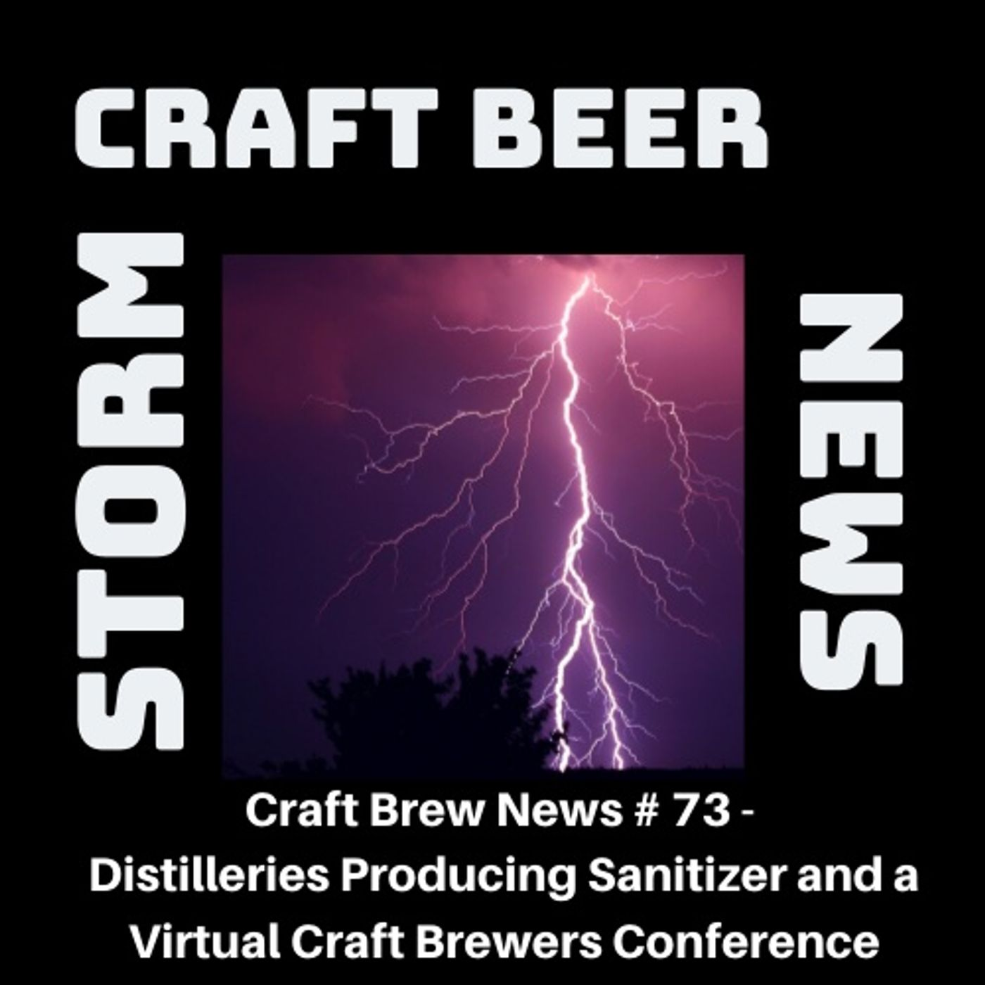 Craft Brew News # 73 - Distilleries Producing Sanitizer and a Virtual Craft Brewers Conference
