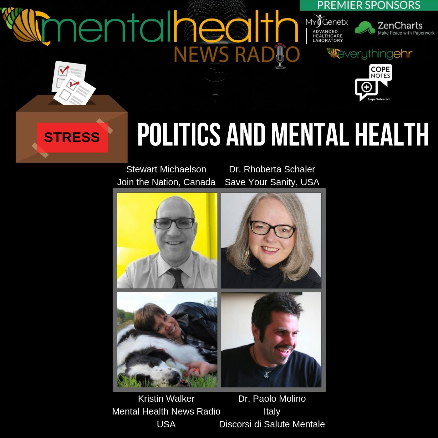 Mental Health News Radio - Politics and Mental Health