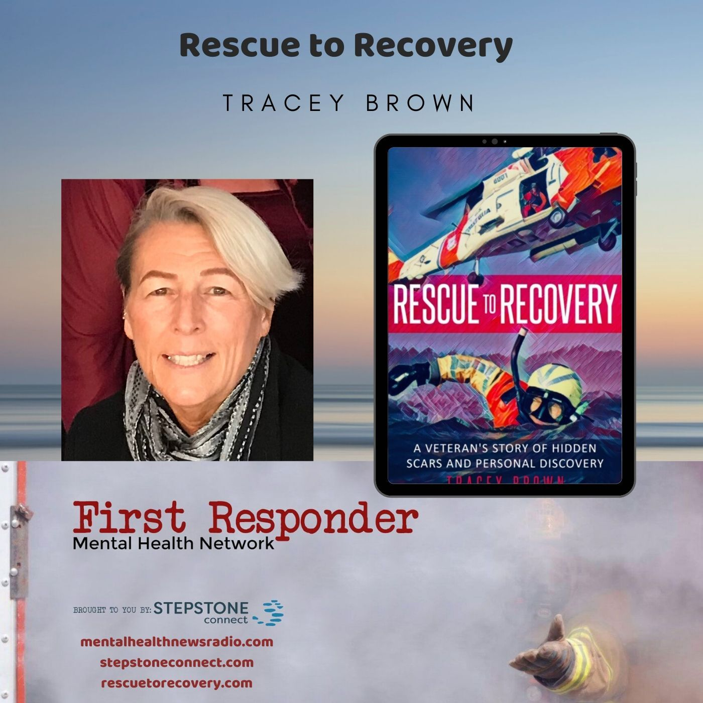 Mental Health News Radio - Rescue to Recovery with Tracey Brown