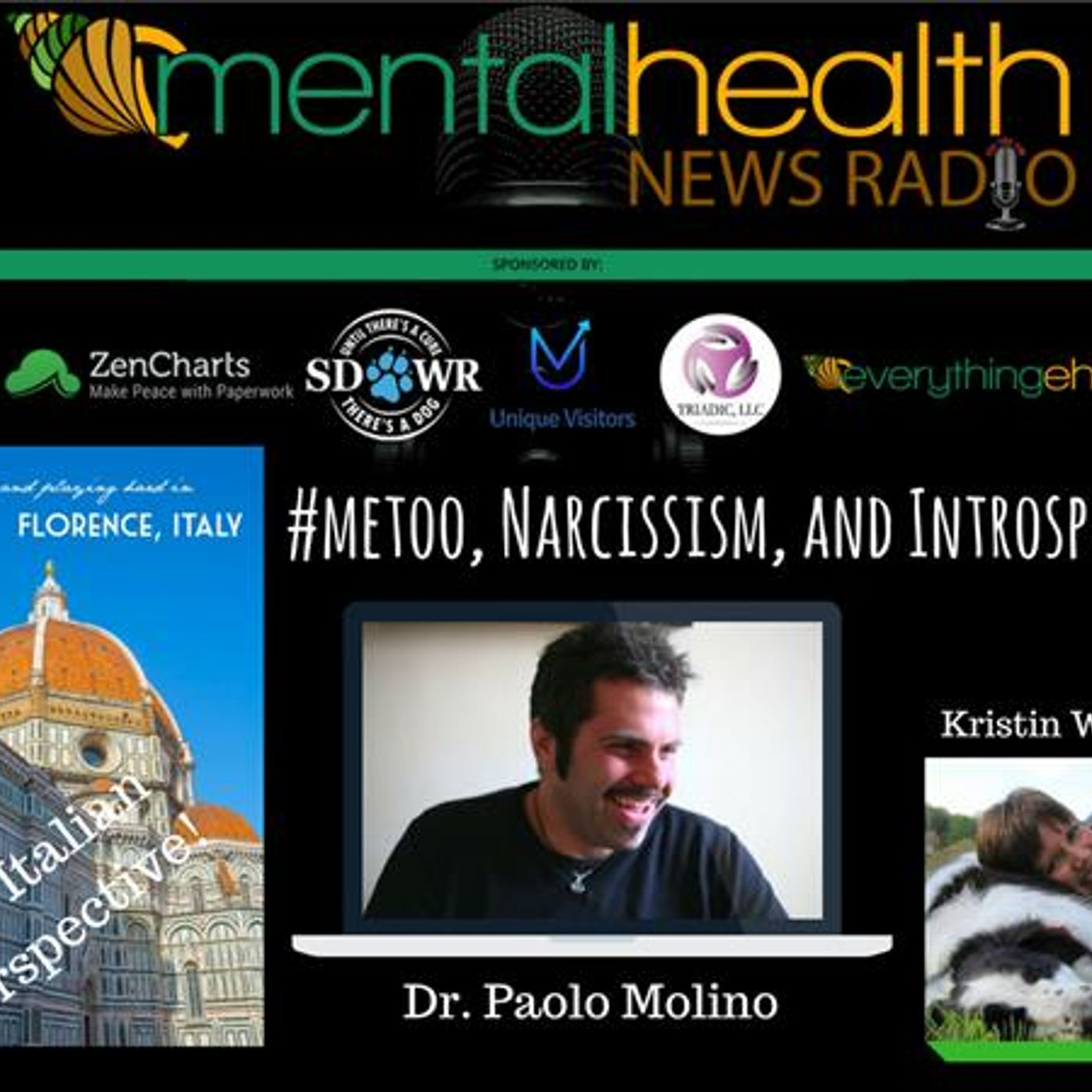 Mental Health News Radio - The Italian Perspective: #metoo, Narcissism, and Introspection: Dr. Paolo Molino