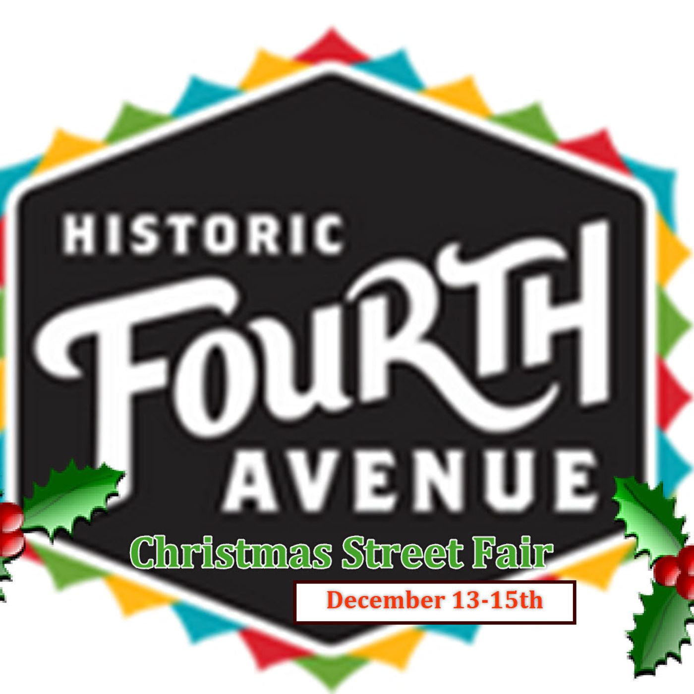 Countyfairgrounds presents - The Fourth Avenue Street Fair XMAS 2019