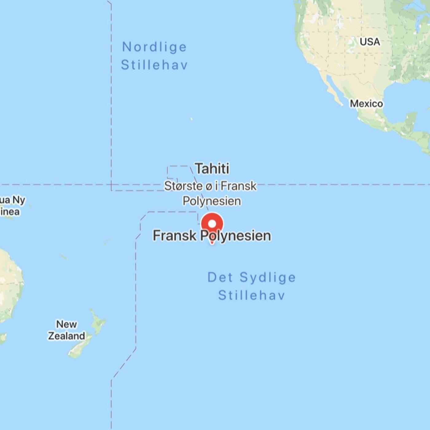 Adam sejler til Polynesien - 03.2020