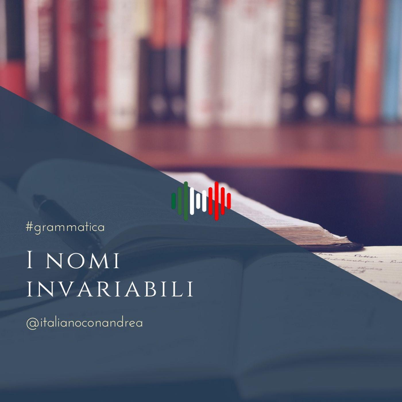 255. GRAMMATICA: Nomi invariabili