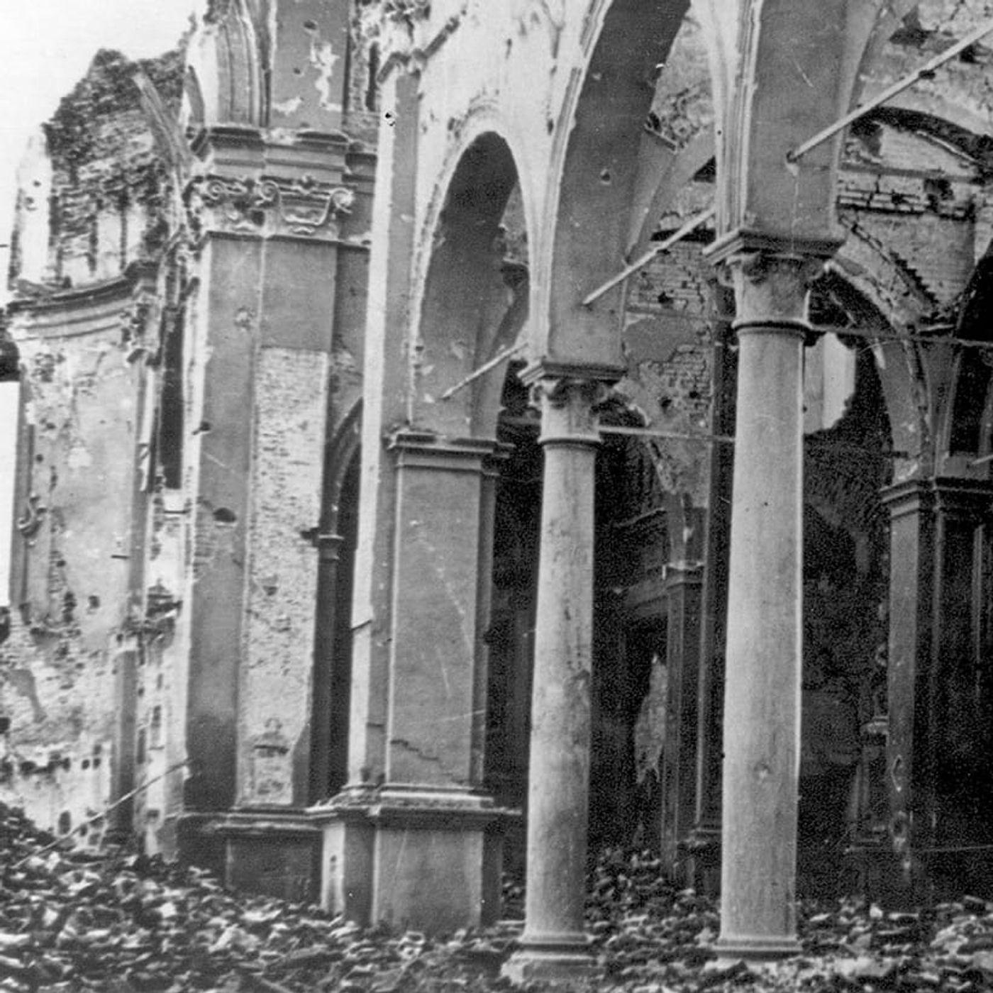 12 aprile 1945 un devastante bombardamento colpisce Argenta