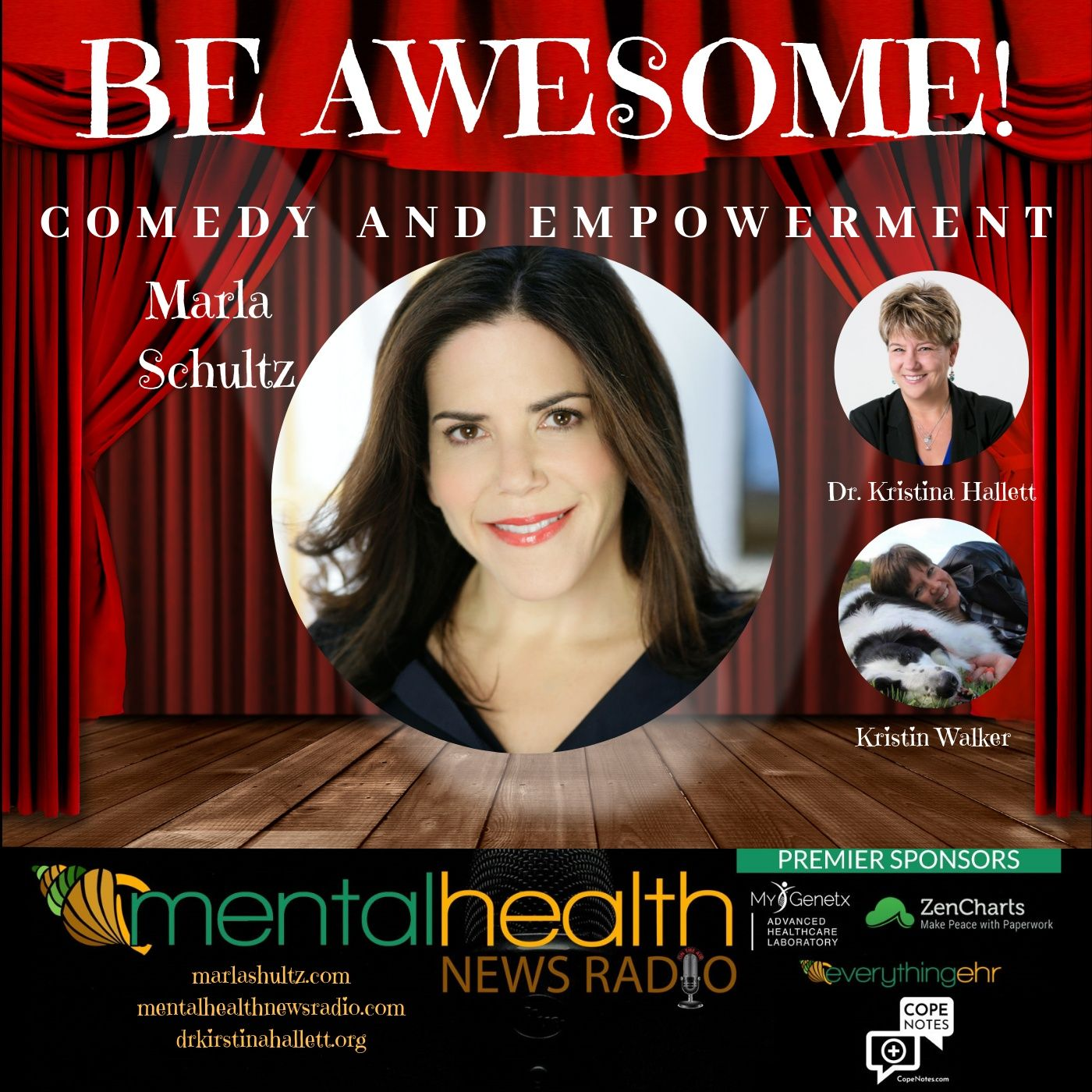 Mental Health News Radio - Be Awesome: Comedy and Empowerment with Marla Schultz