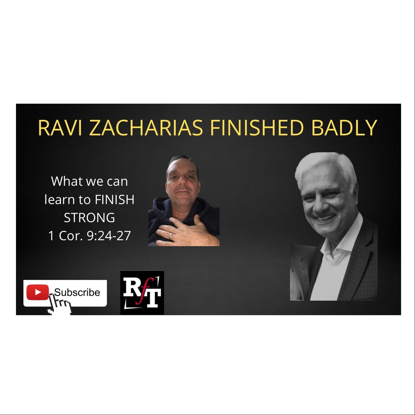 Ravi Zacharias Finished Badly PT1 - 3:1:21, 11.37 AM