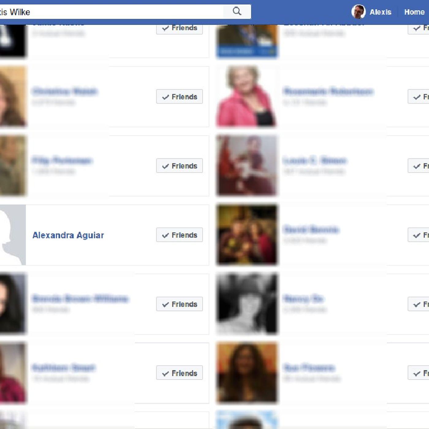 Facebook Friends (Delete Or Keep)