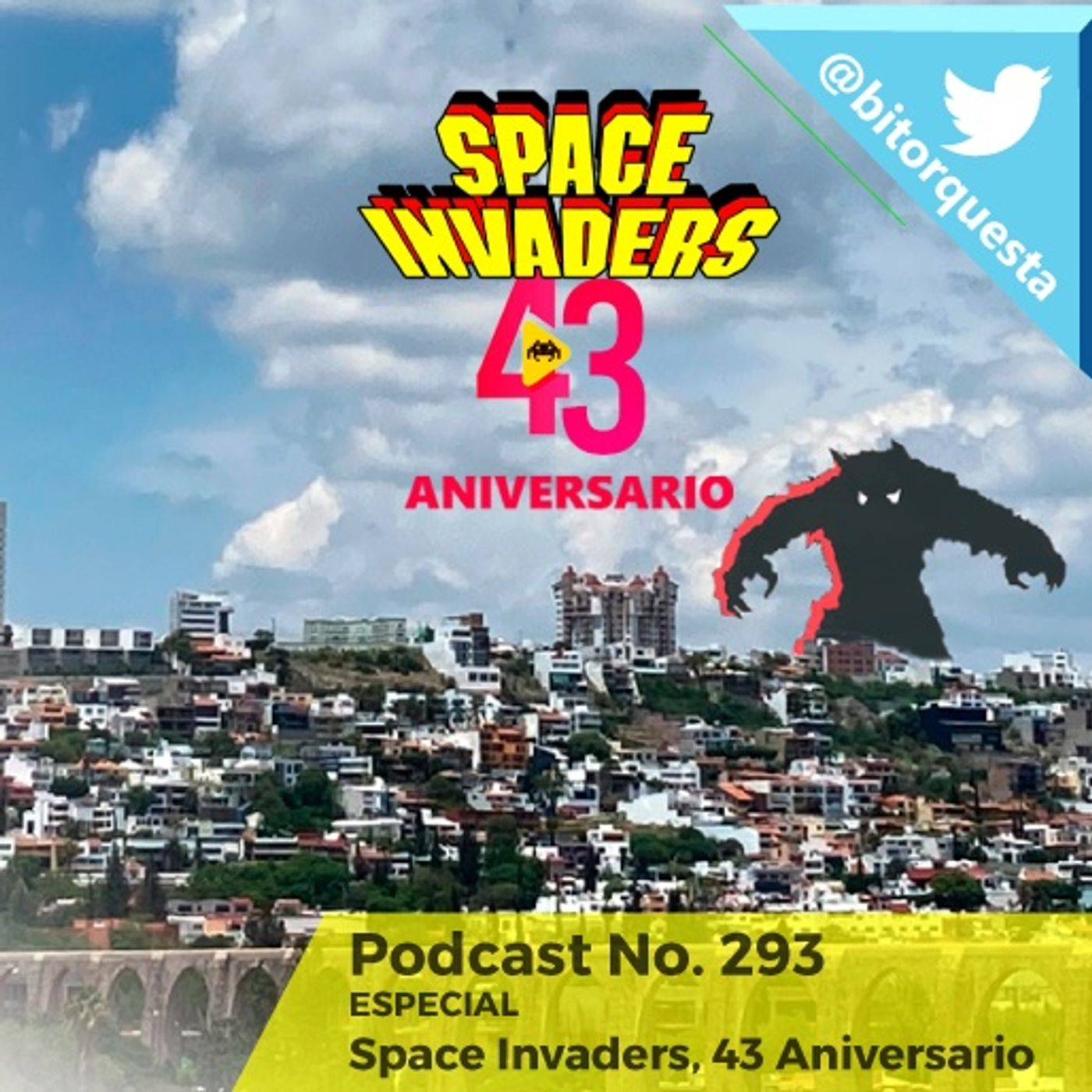 293 - Space Invaders, 43 Aniversario