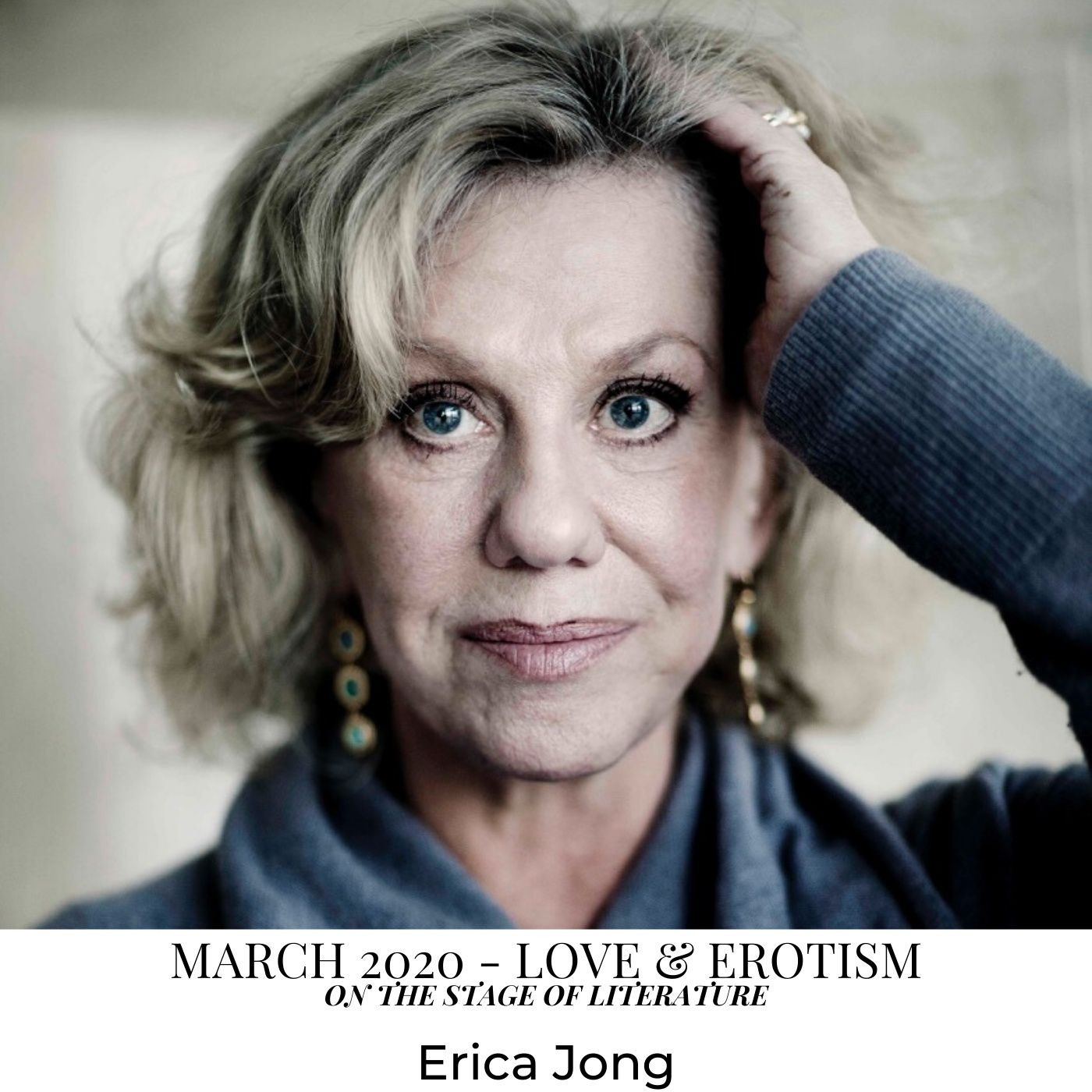 Creative Interview with Erica Jong. Love & Erotism - On the Stage of Literature - March 2020
