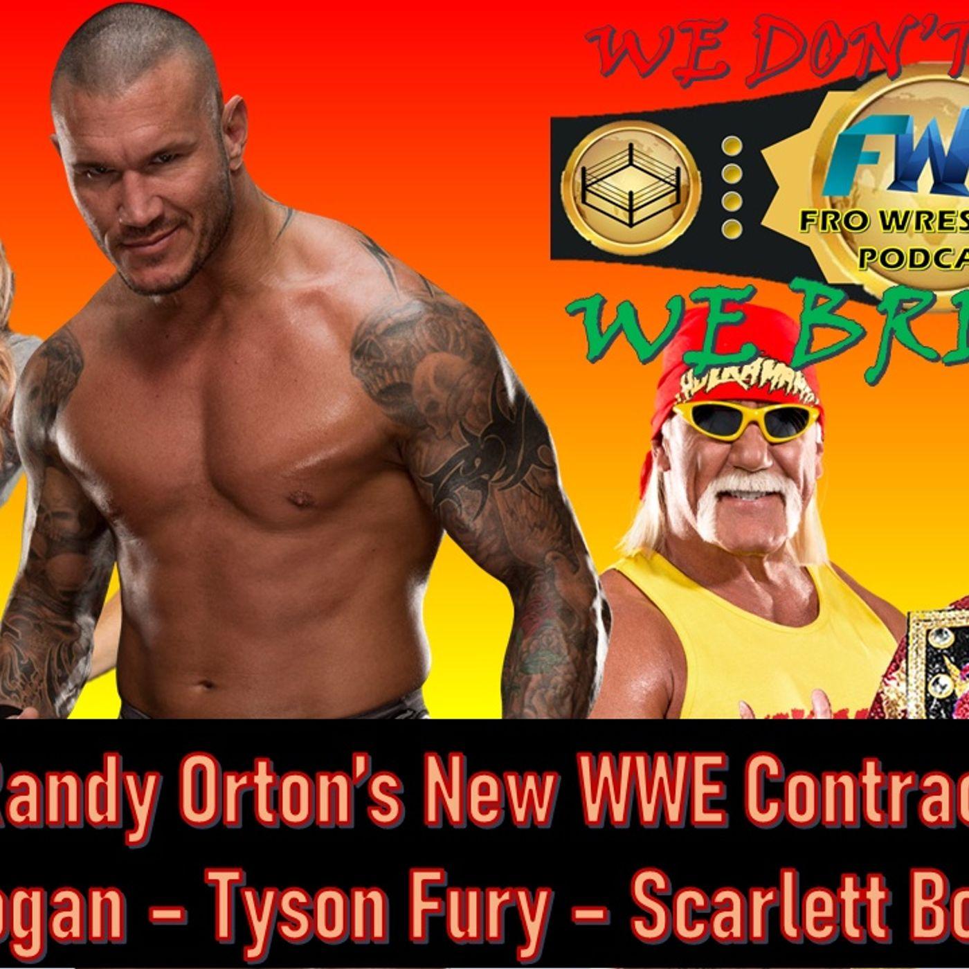 Orton's New Contract - Bordeaux, Hogan, New Japan News