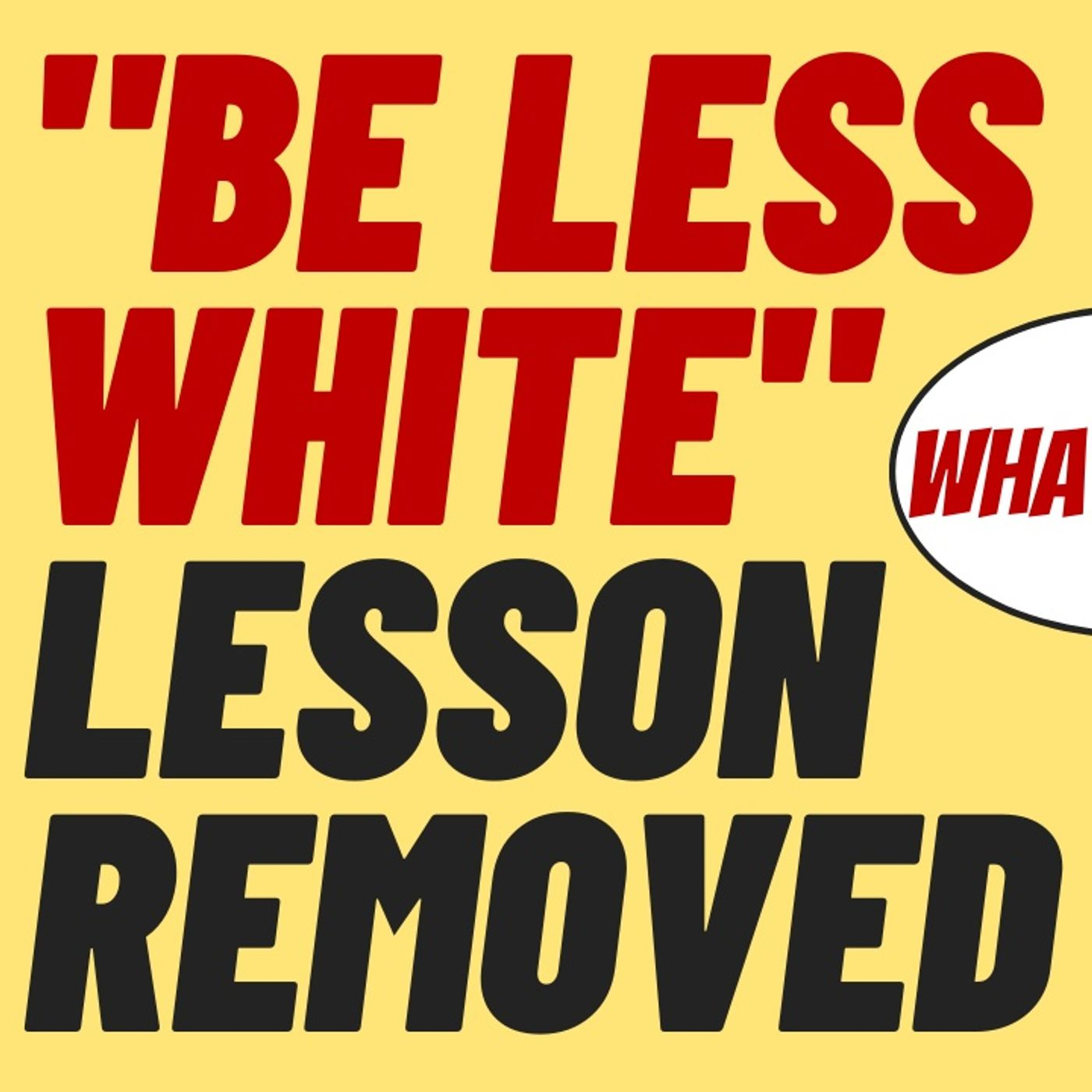 """""""BE LESS WHITE"""" LESSON REMOVED FROM LINKEDIN, WOKE-A-COLA"""