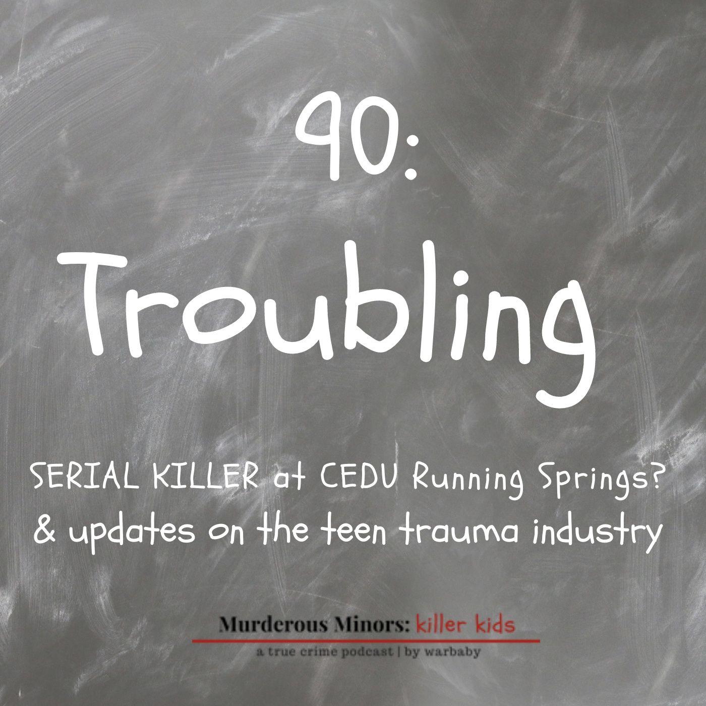 Troubling - Serial Killer at CEDU Running Springs?