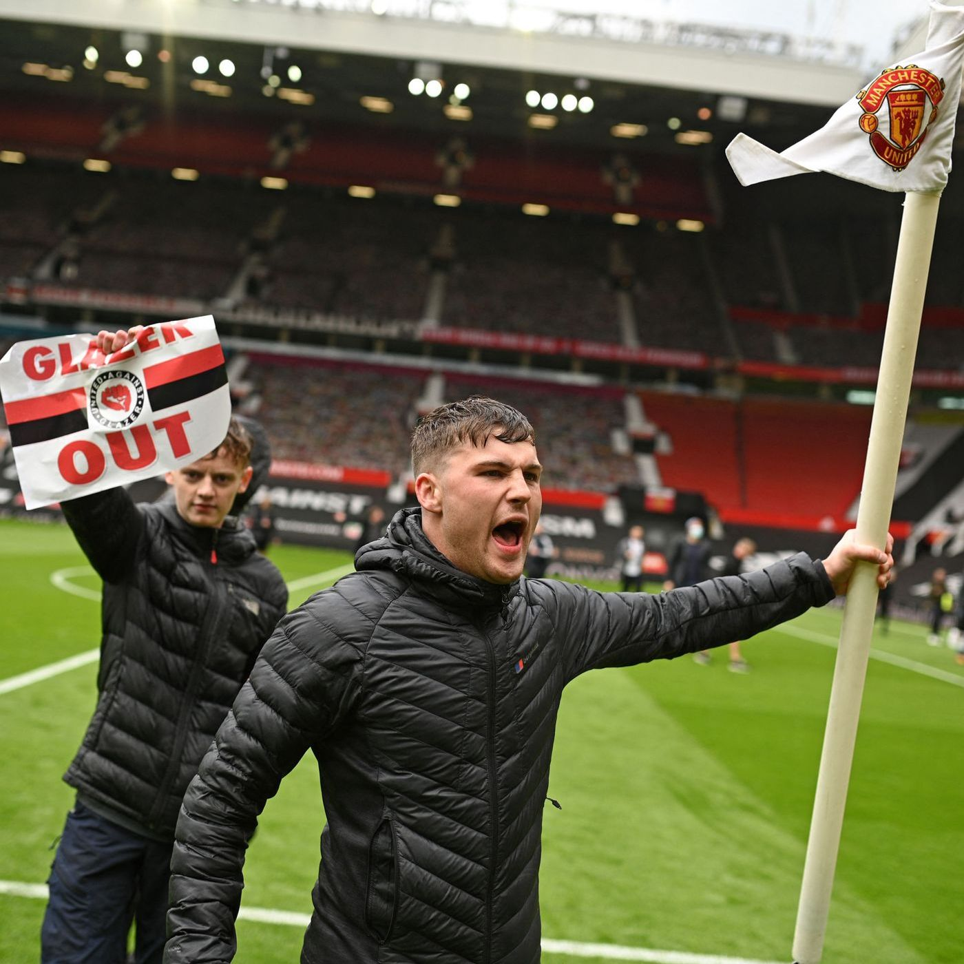 Blood Red: Liverpool's visit to Manchester United POSTPONED after supporter protests at Old Trafford