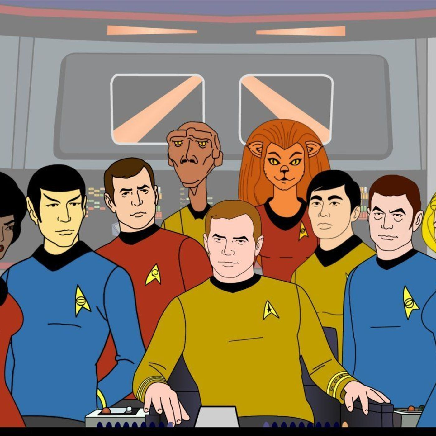 4. The Road to Lower Decks: Animated Inspirations