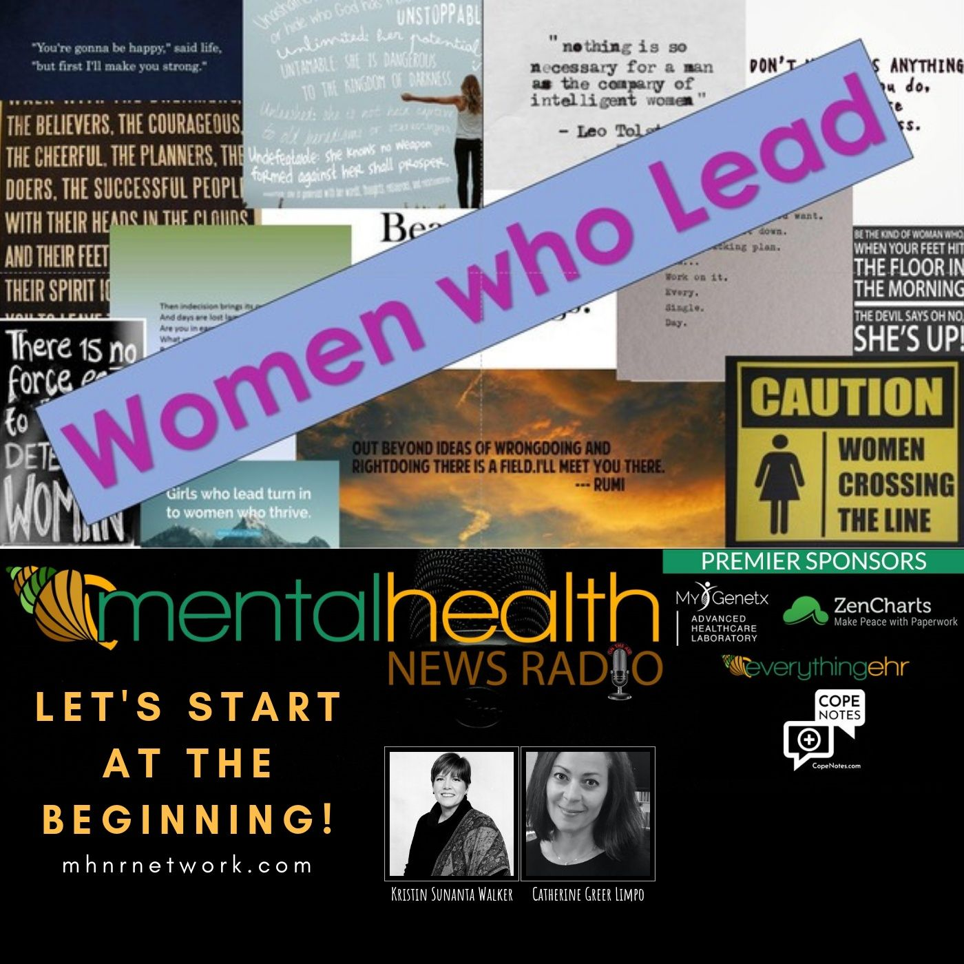 Mental Health News Radio - Women Who Lead: Let's Start at the Beginning with Catherine Greer Limpo