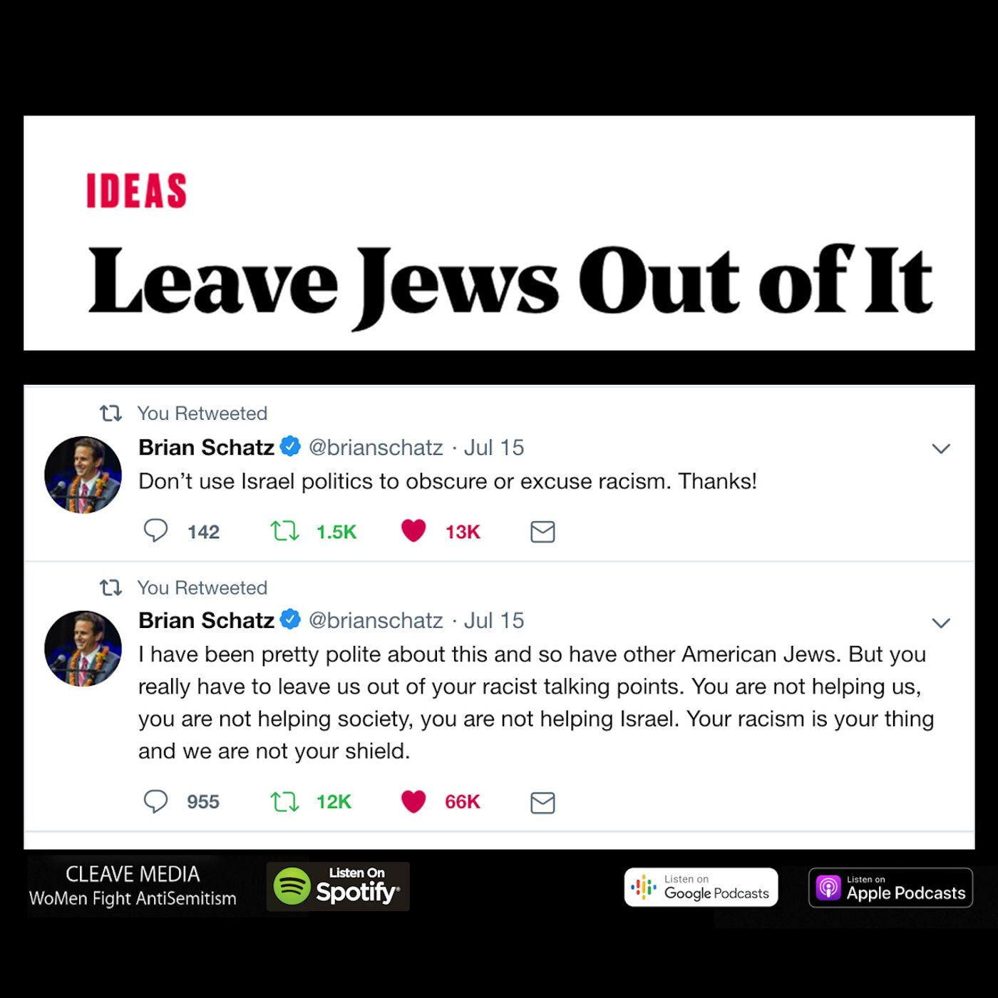 Ep. 19 – Leave Jews Out Of It