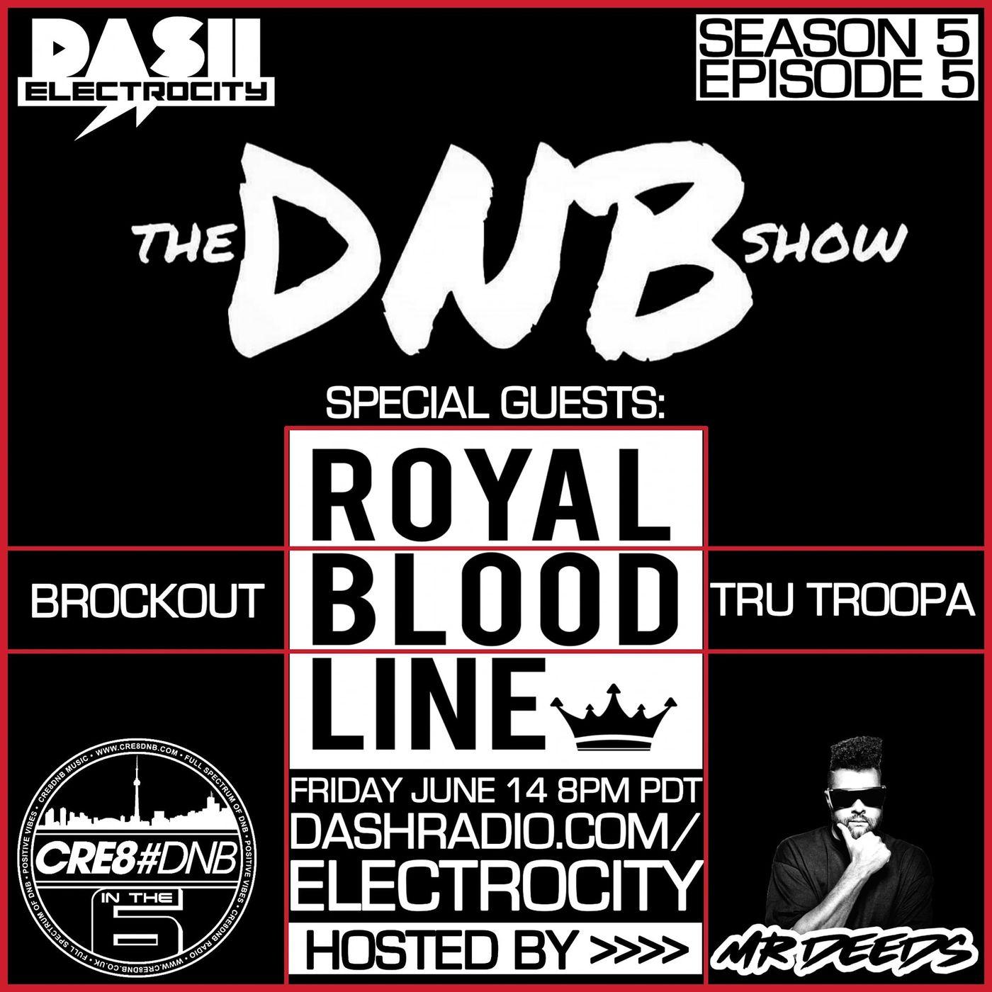 the DNB show Episode 47 (guest mix Royal Bloodline)
