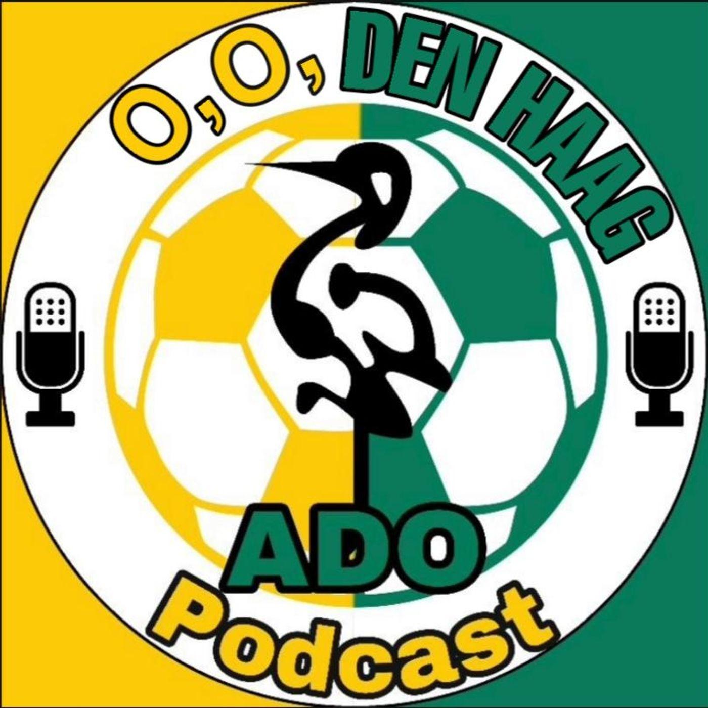 O, O, Den Haag, de ADO Podcast logo