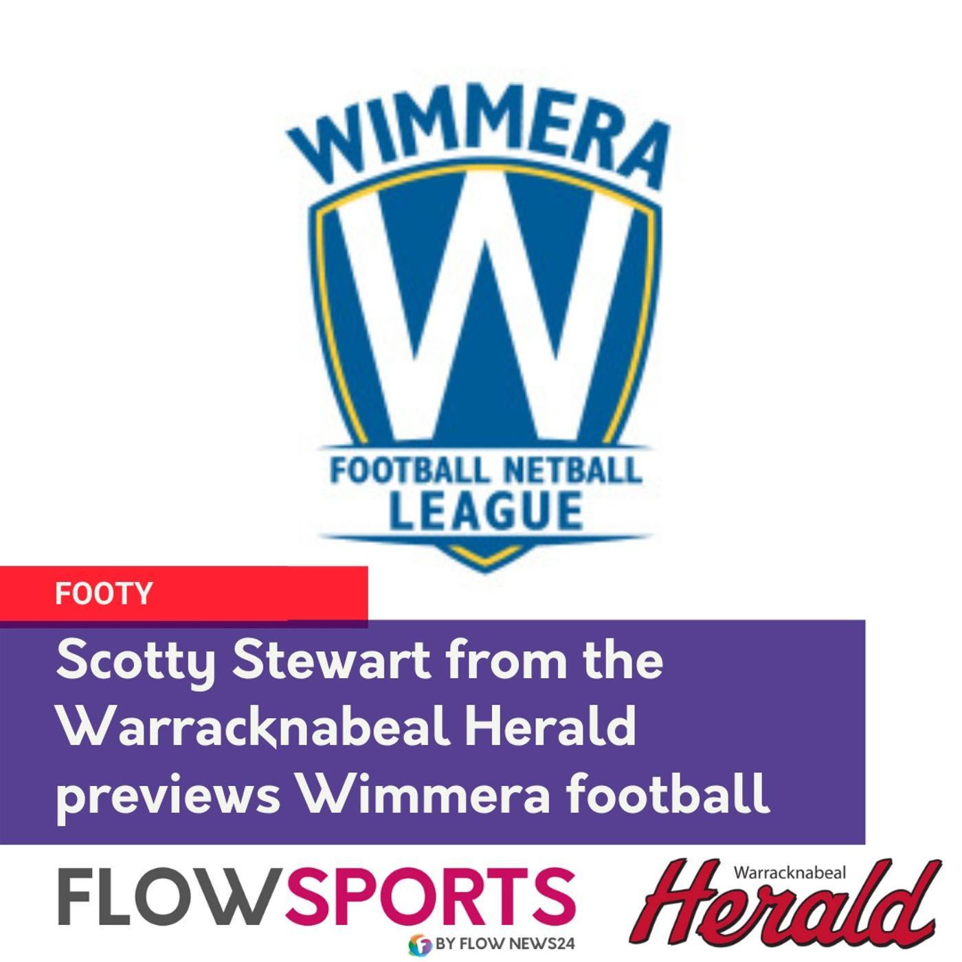 Scotty Stewart previews round 8 matches in Wimmera footy, with no crowds