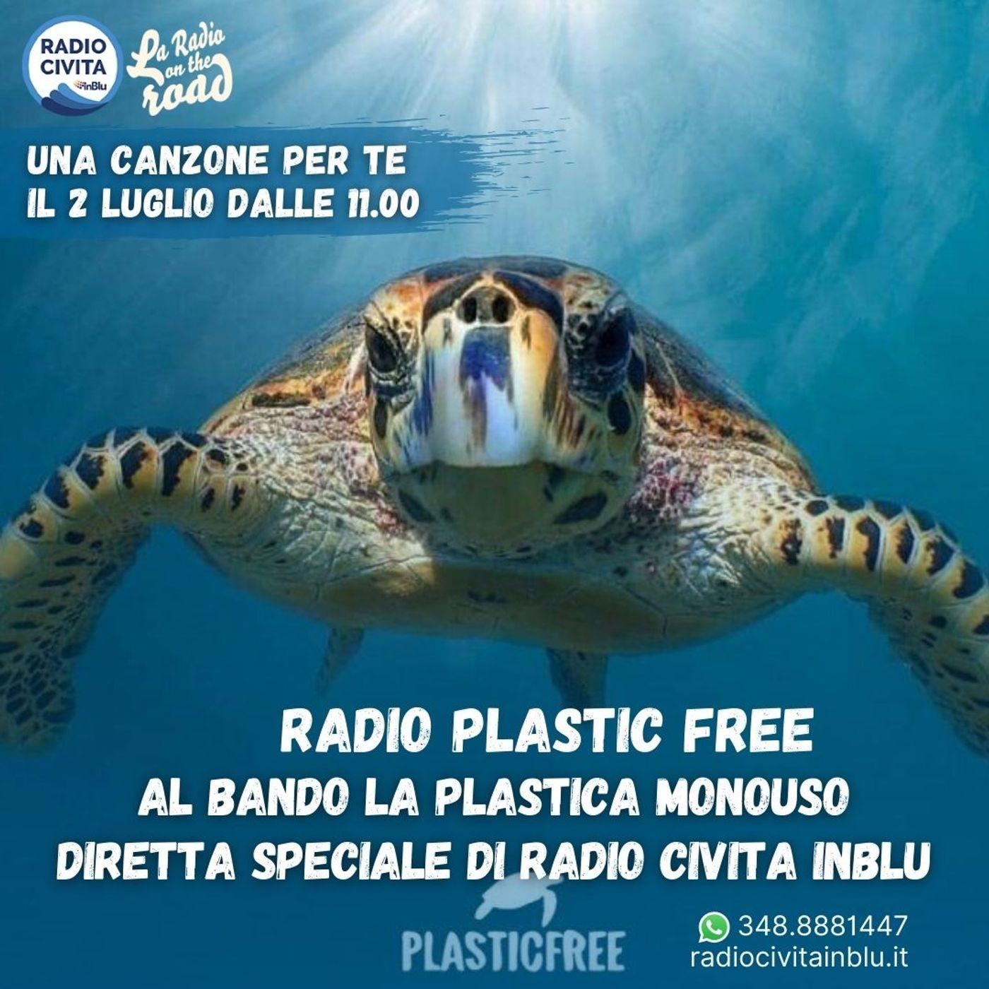 Radio Plastic Free, Al bando la plastica monouso