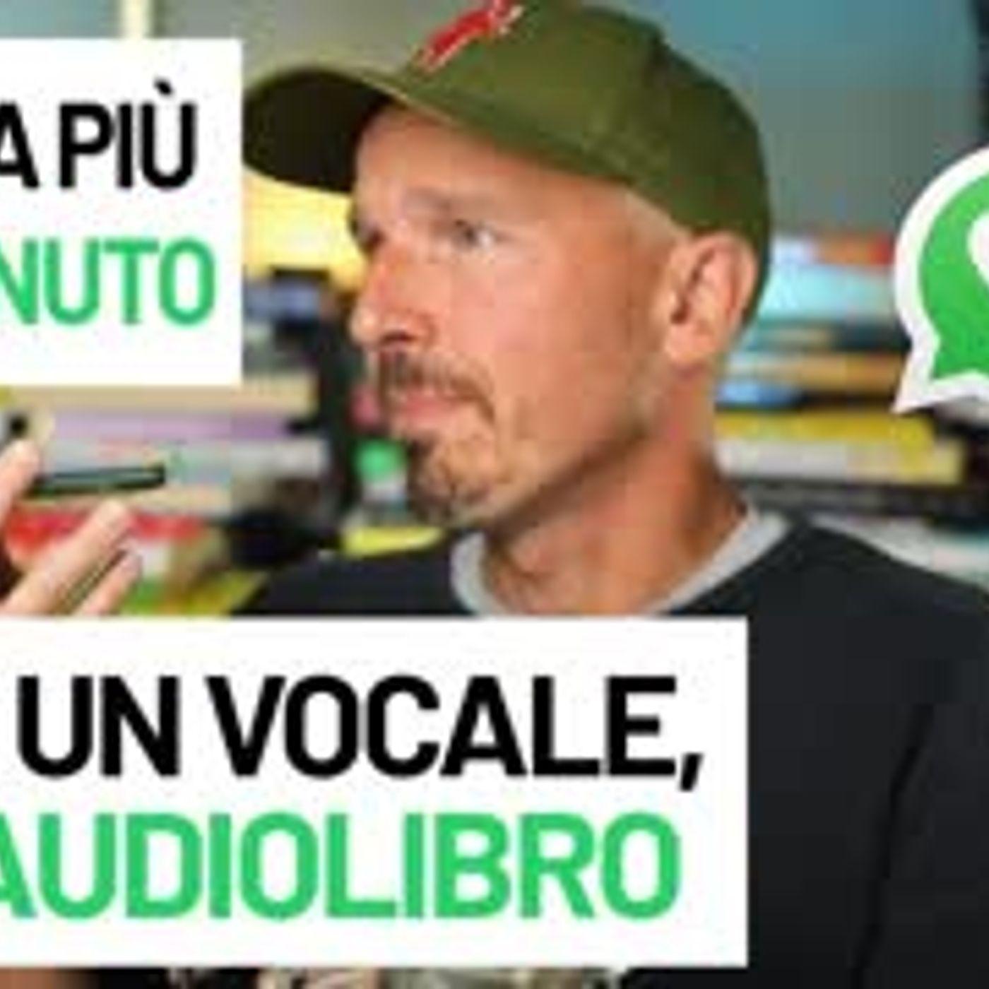 Se dura più di 1 minuto non è un vocale...Belin è un audiolibro!