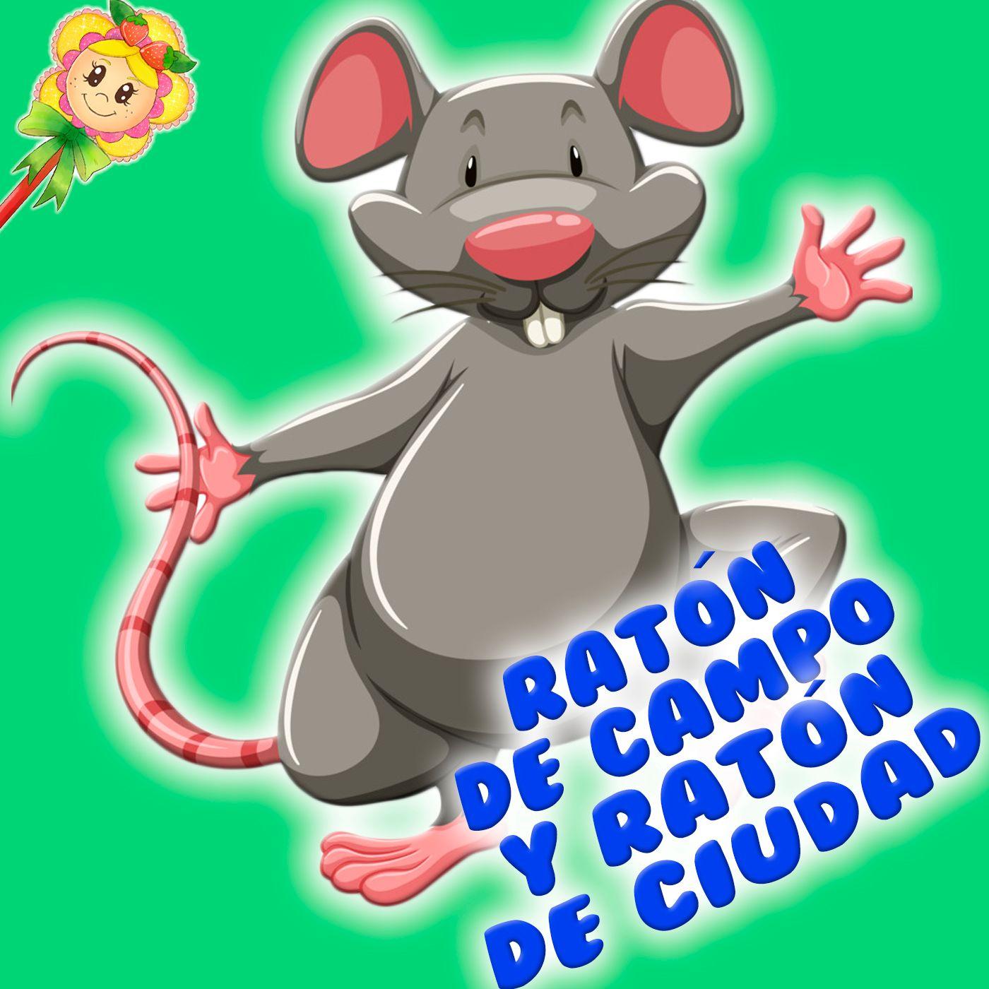 149. Fábula del ratón de campo y del ratón de ciudad. Cuentos infantiles de Hada de Fresa