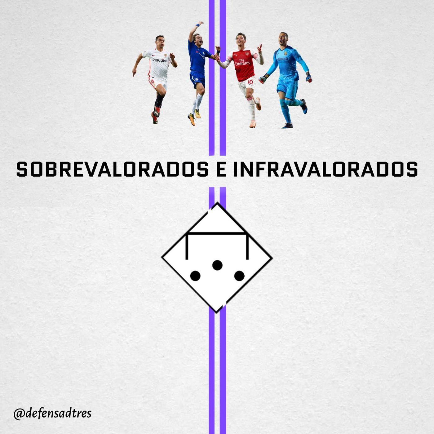 XI SOBREVALORADOS E INFRAVALORADOS - Defensa de Tres 22x01