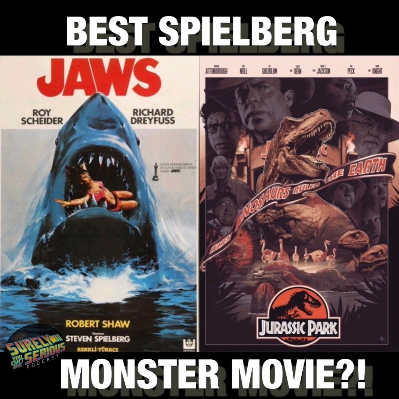 Jurassic Park ('93) -or- Jaws ('75)?!