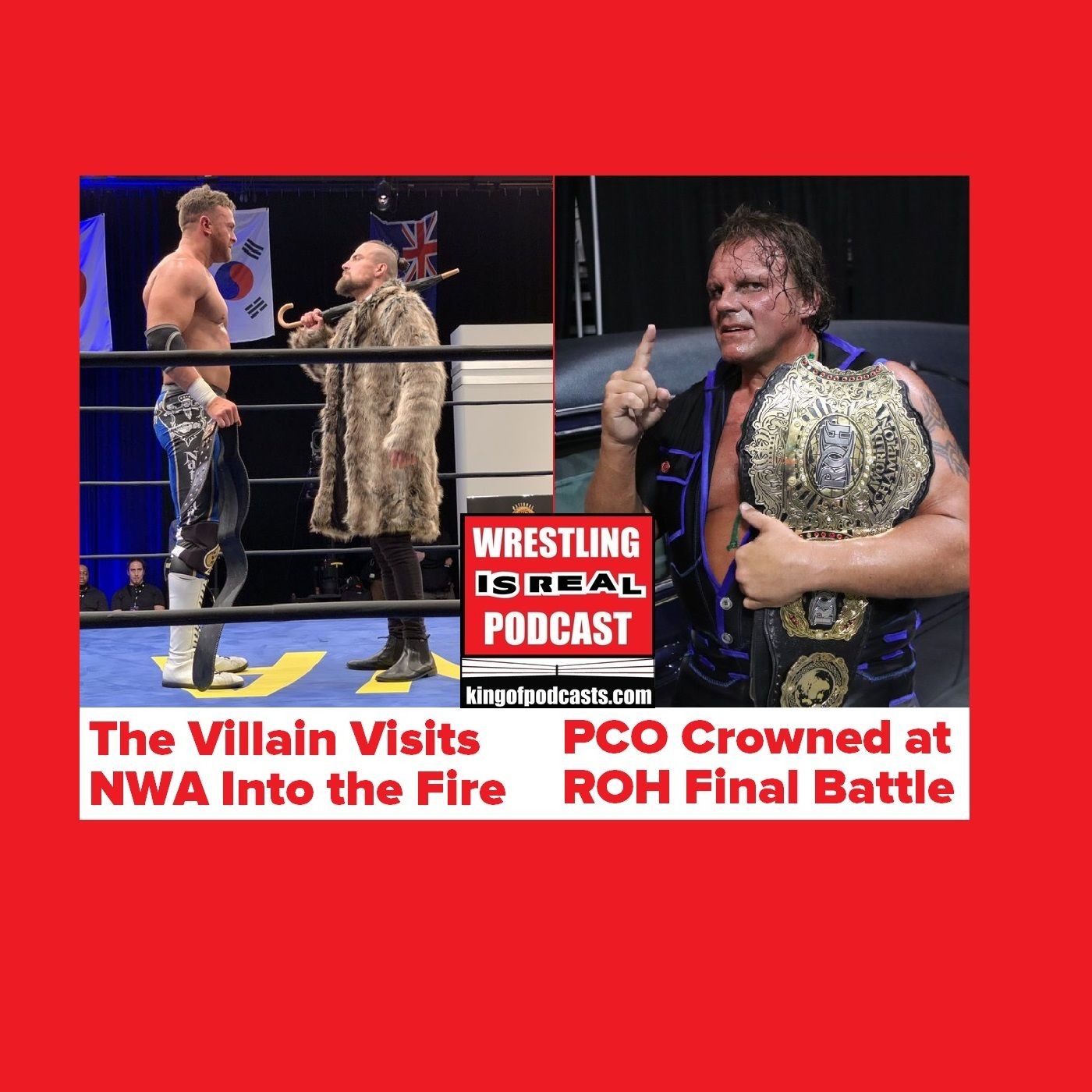 Villain Visits NWA Into the Fire; PCO Crowned at ROH Final Battle KOP121519-503