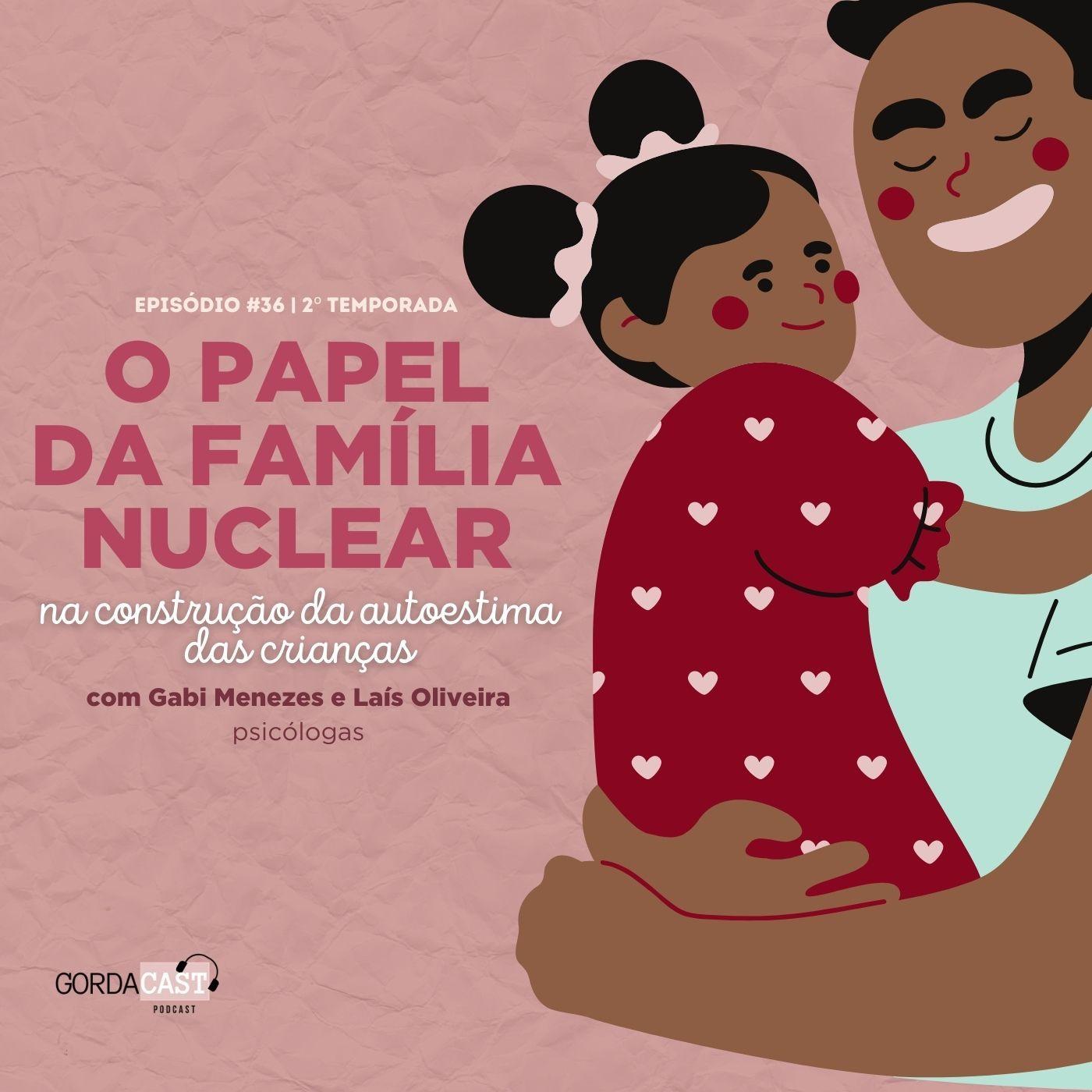 GordaCast #35   O papel da família nuclear na construção da autoestima das crianças com Gabi Menezes e Laís Oliveira