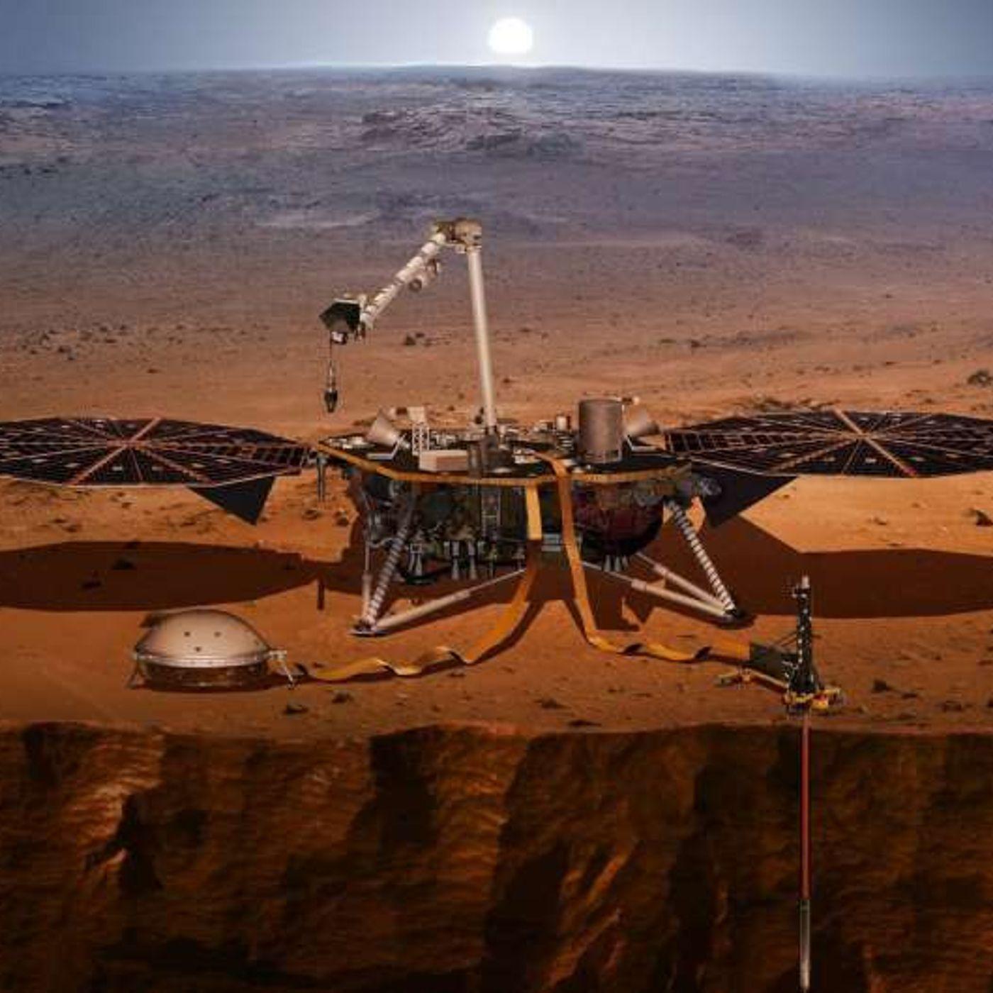 InSight rivela le dimensioni del nucleo di Marte