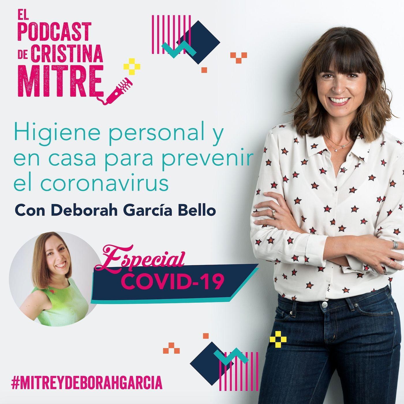 Higiene personal y en casa con Deborah Garcia Bello. Especial COVID-19